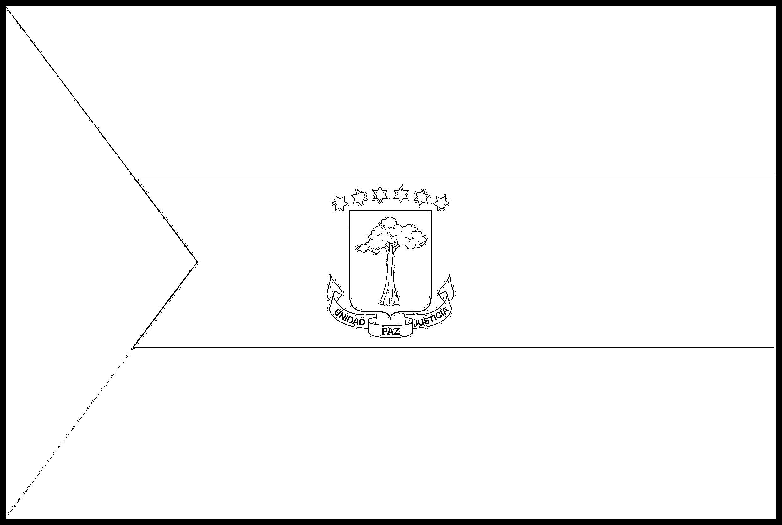 Equatorial_Guinea Flag Colouring Page