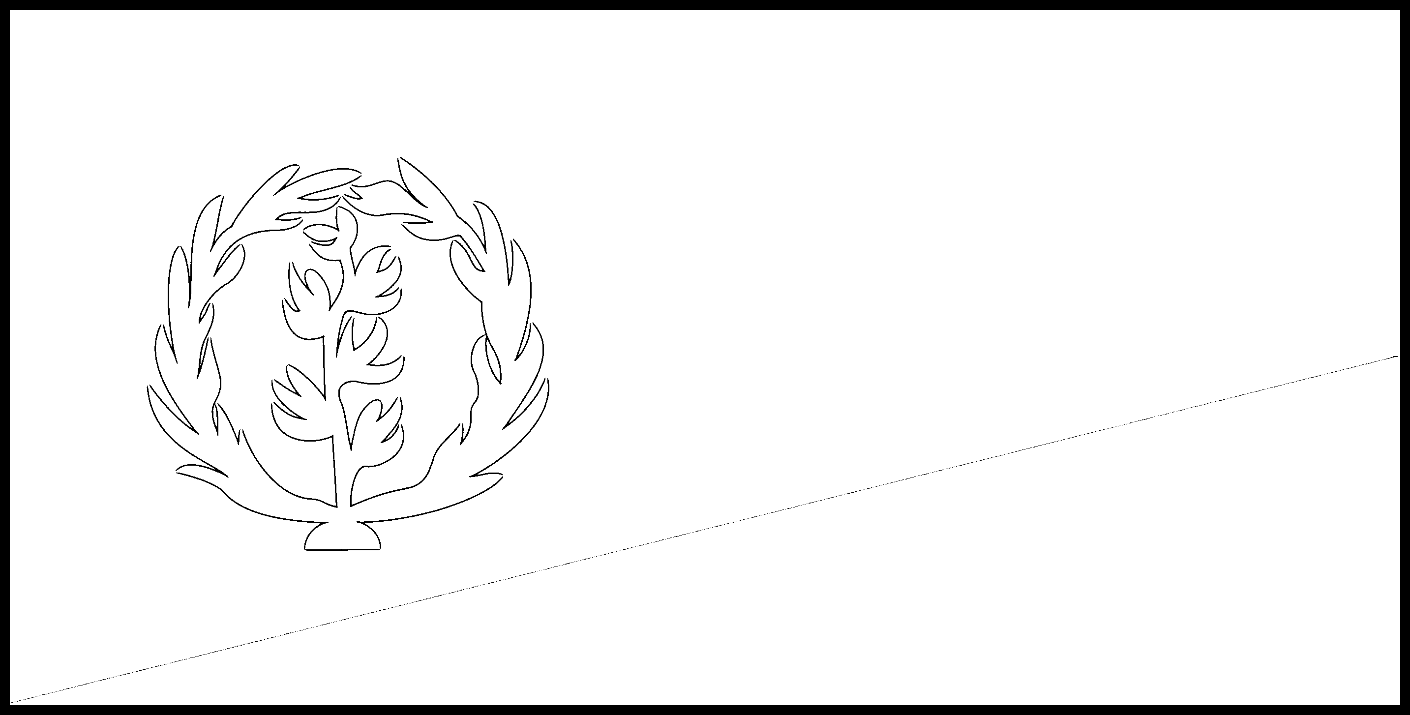 Eritrea Flag Colouring Page