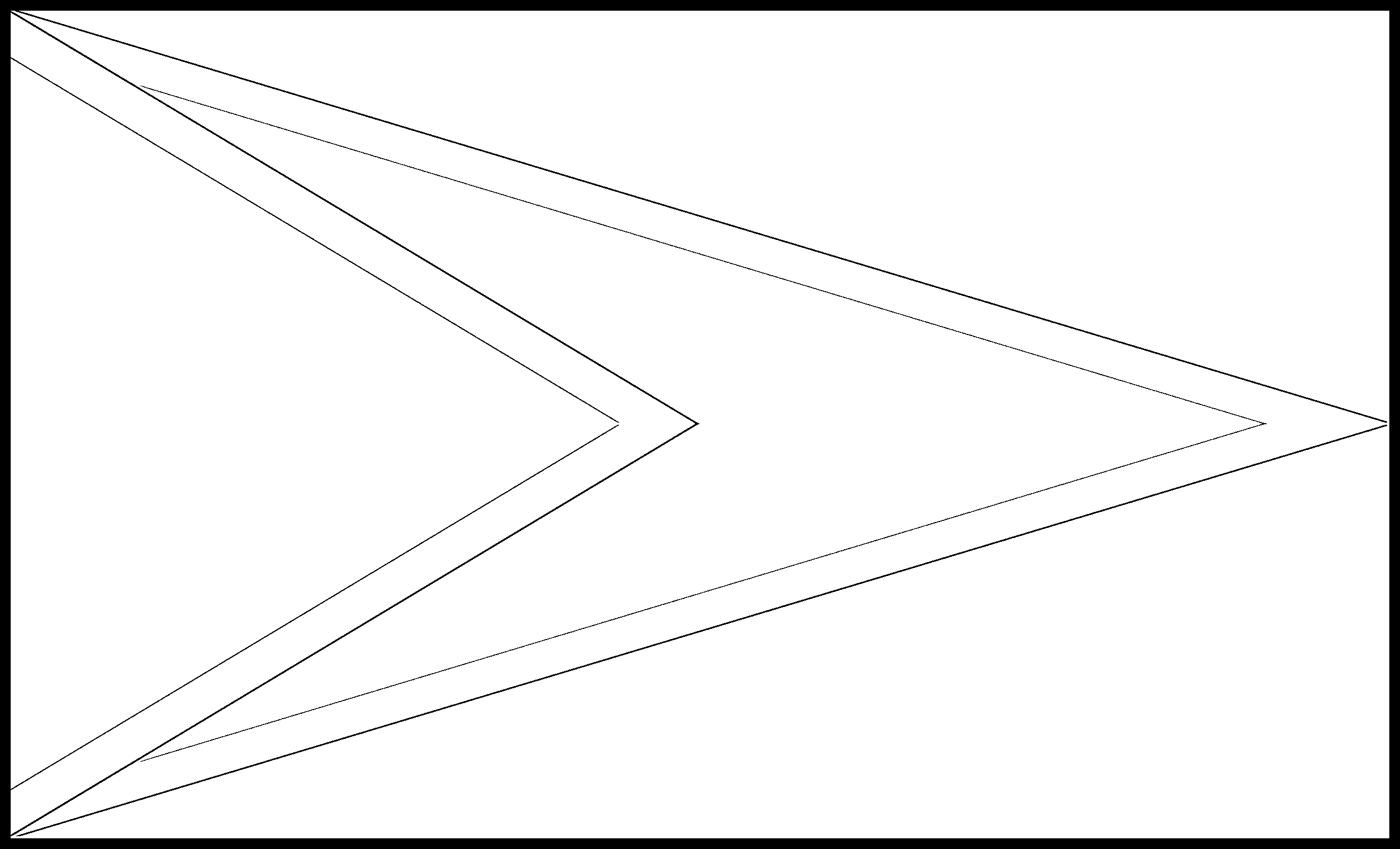 Guyana Flag Colouring Page