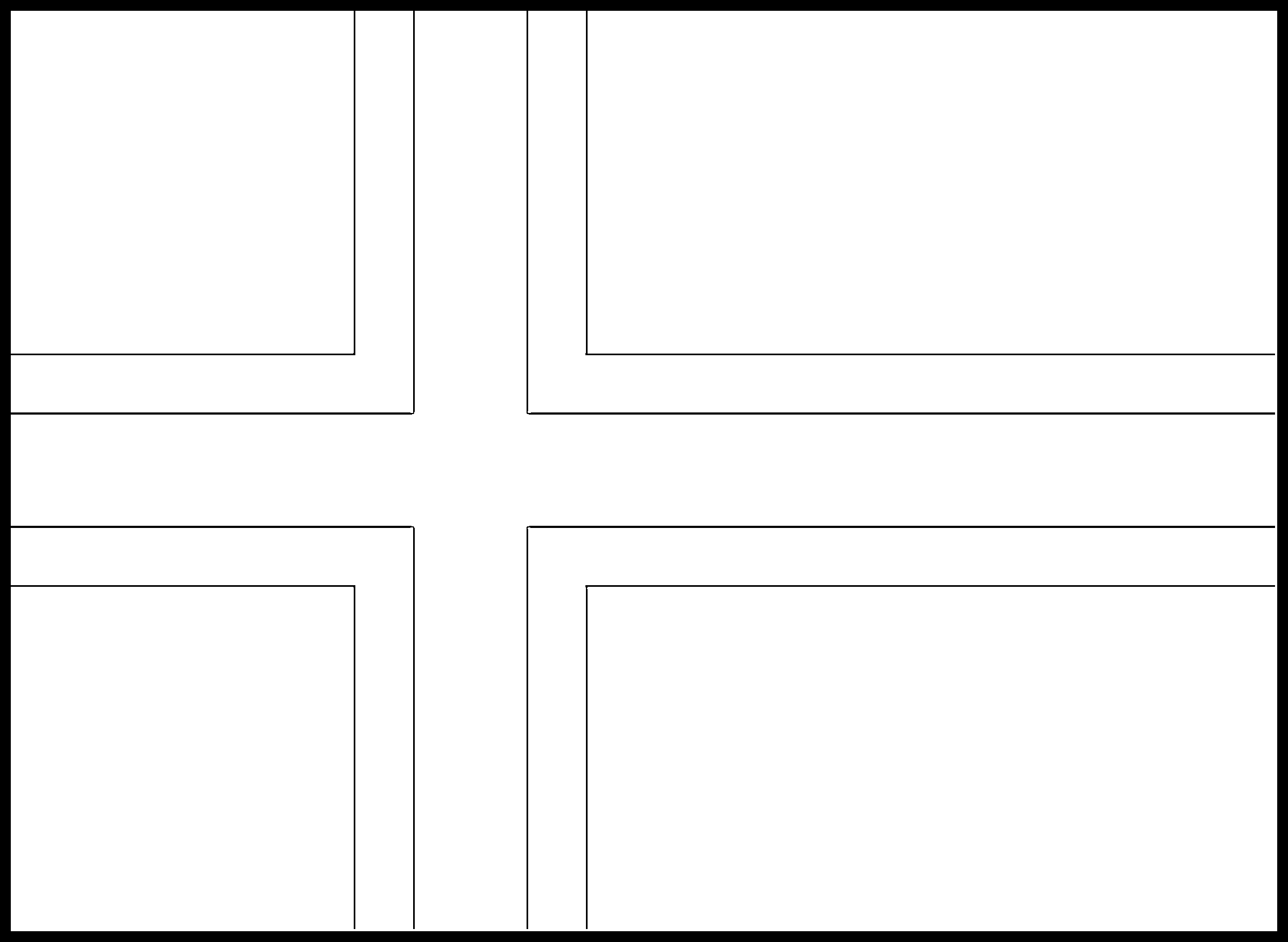 Norway Flag Colouring Page