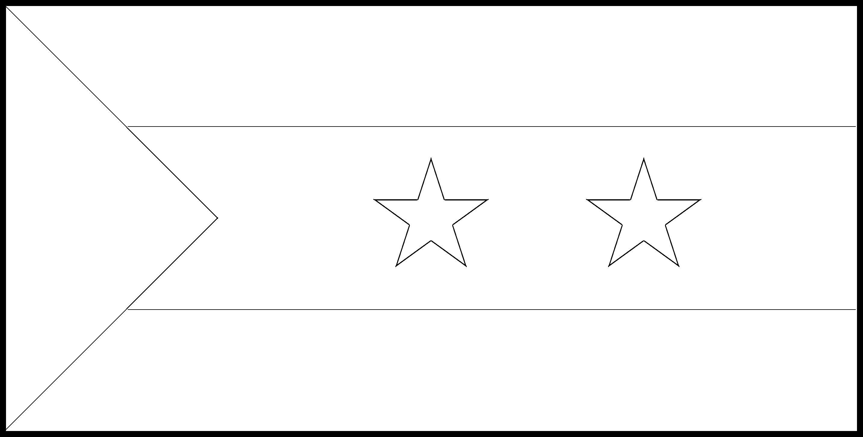 Sao_Tome_and_Principe Flag Colouring Page