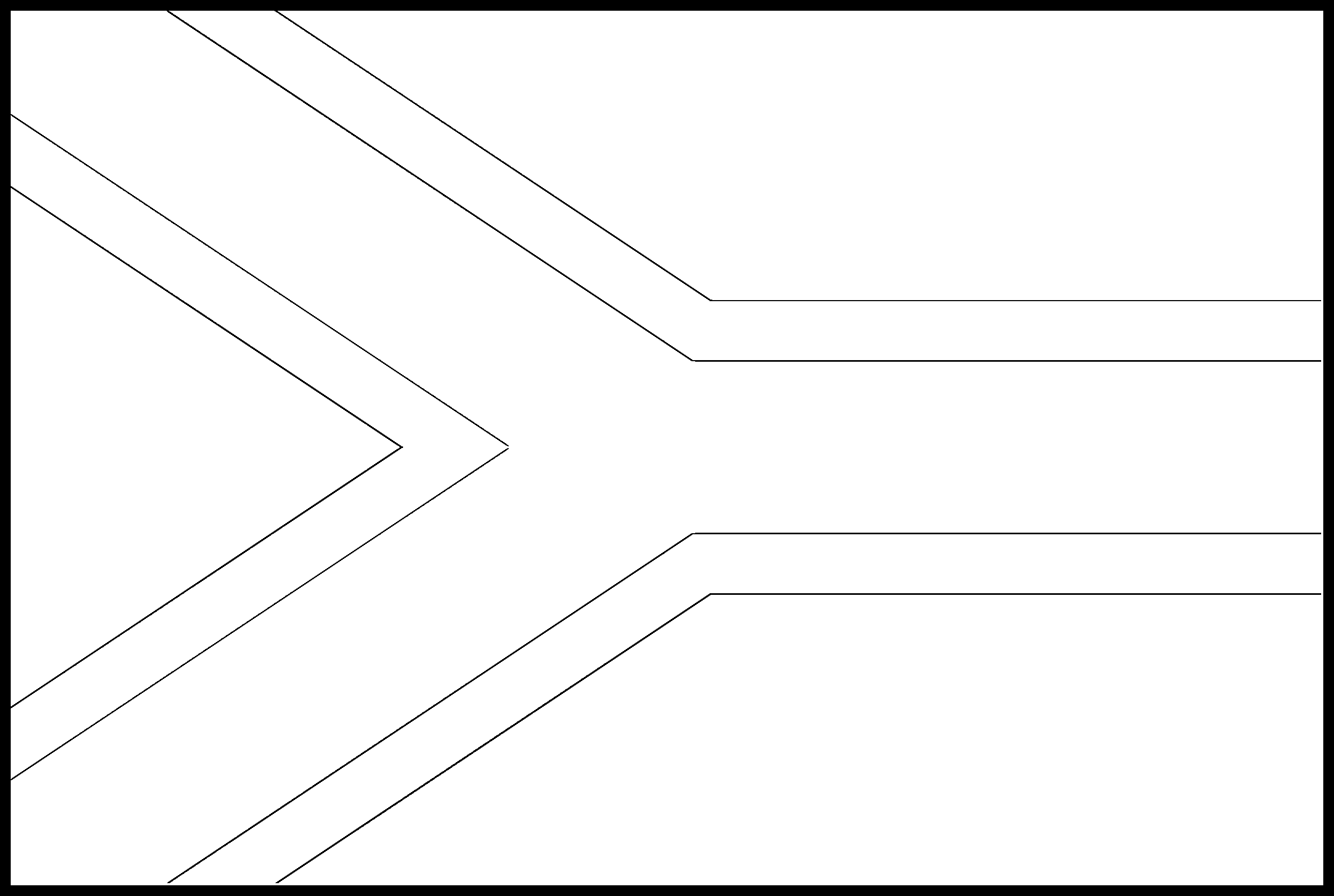 South_Africa Flag Colouring Page