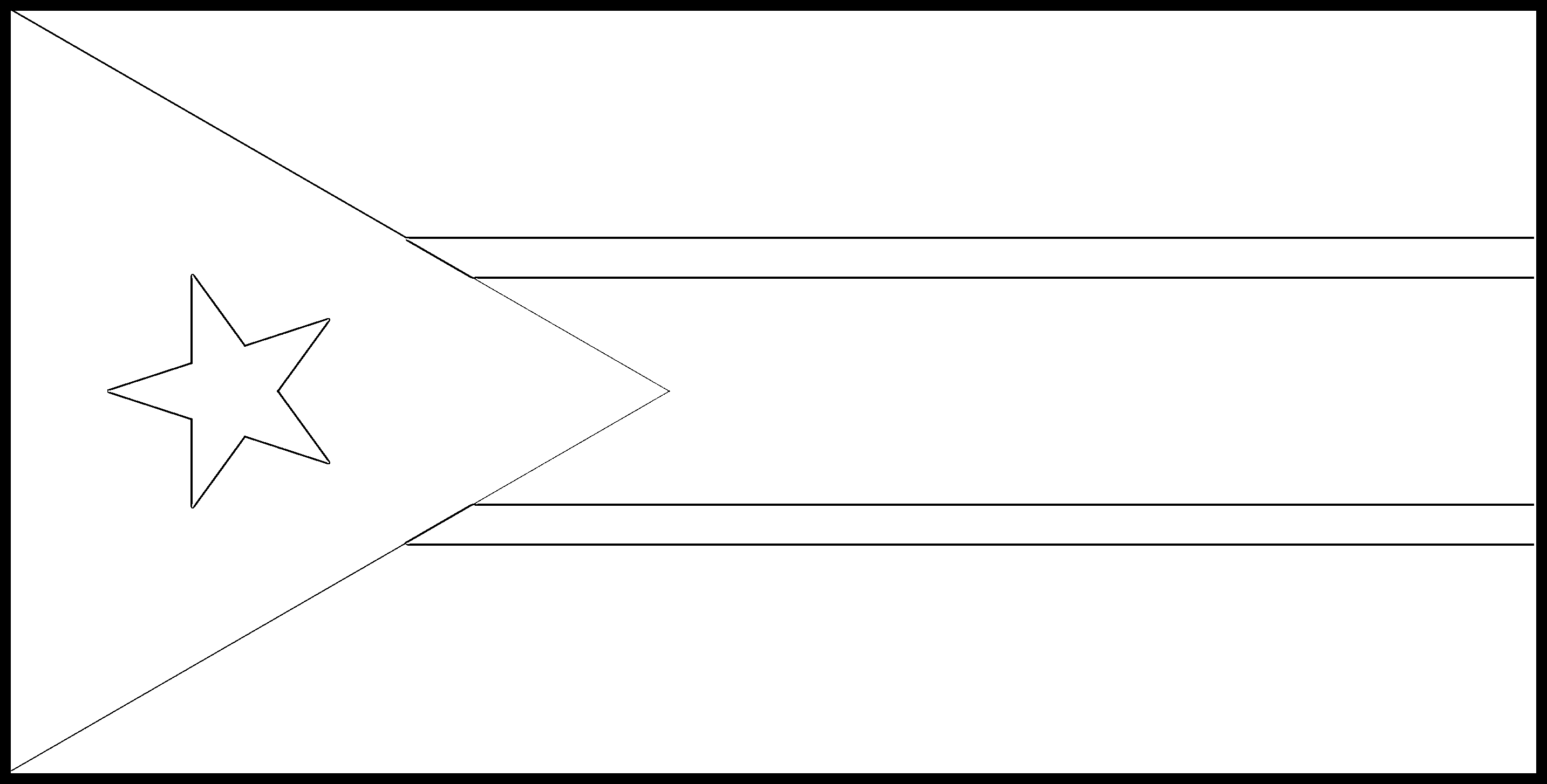 South_Sudan Flag Colouring Page