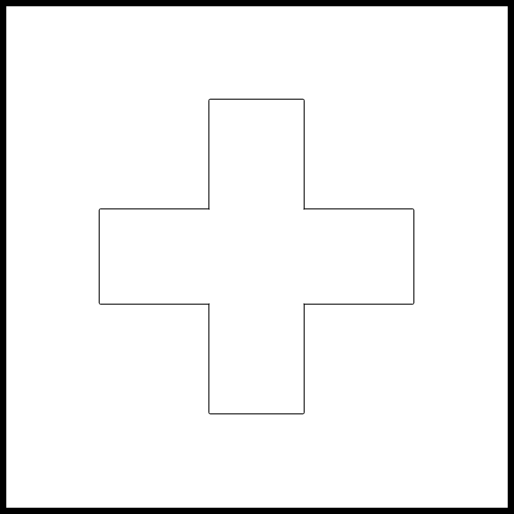 Switzerland Flag Colouring Page