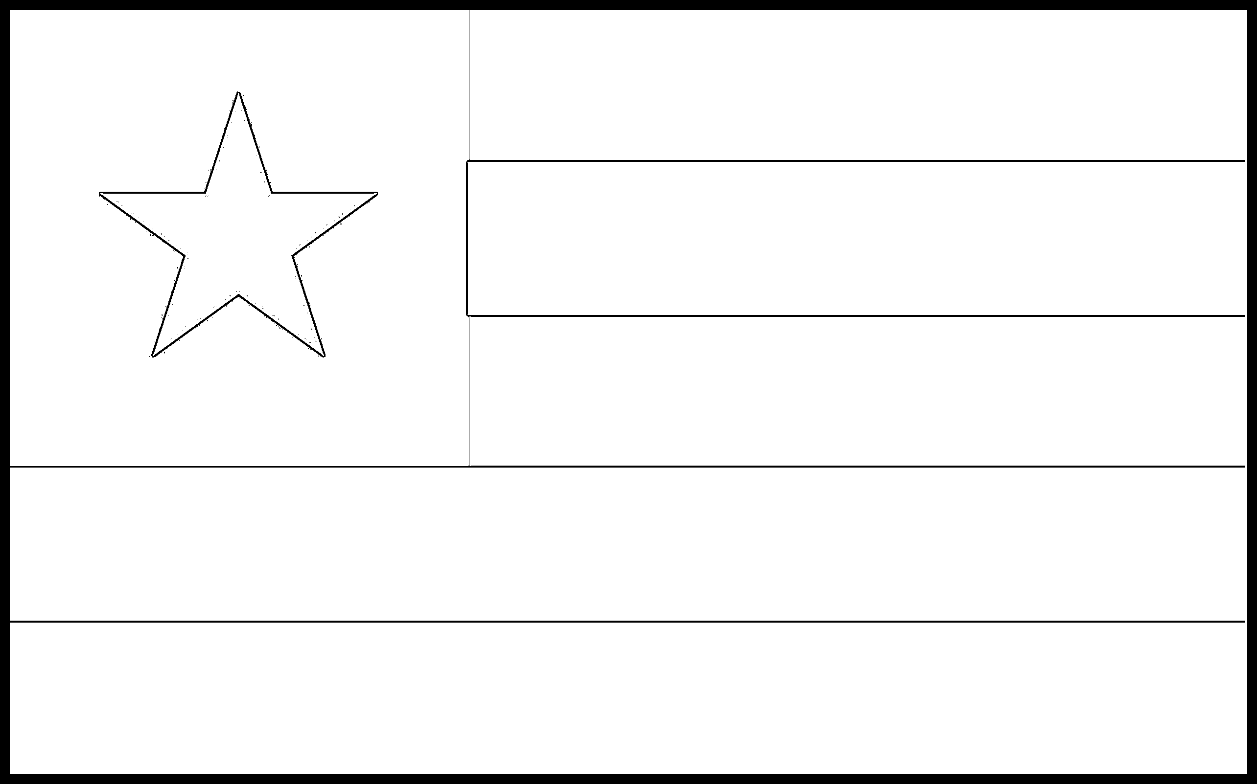 Togo Flag Colouring Page