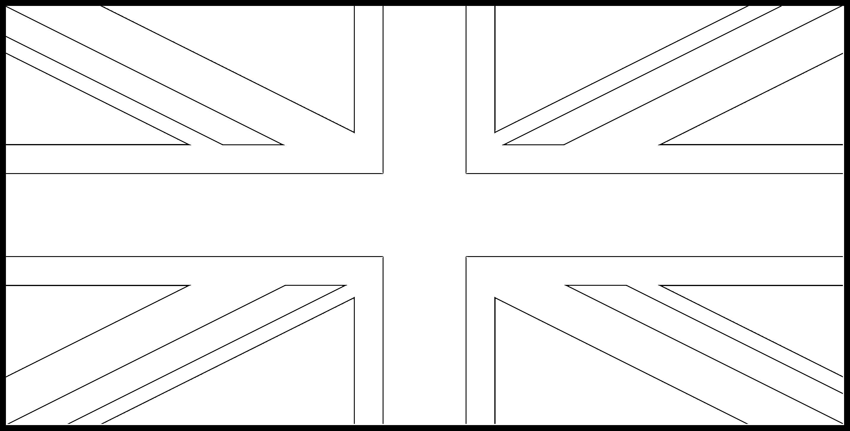 United_Kingdom Flag Colouring Page