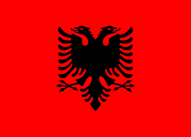 Albania Flag Colours