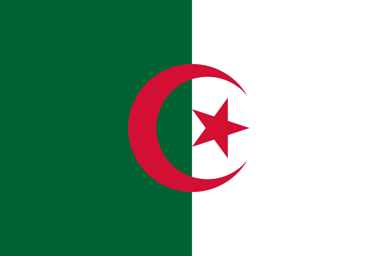 Algeria Flag Colours