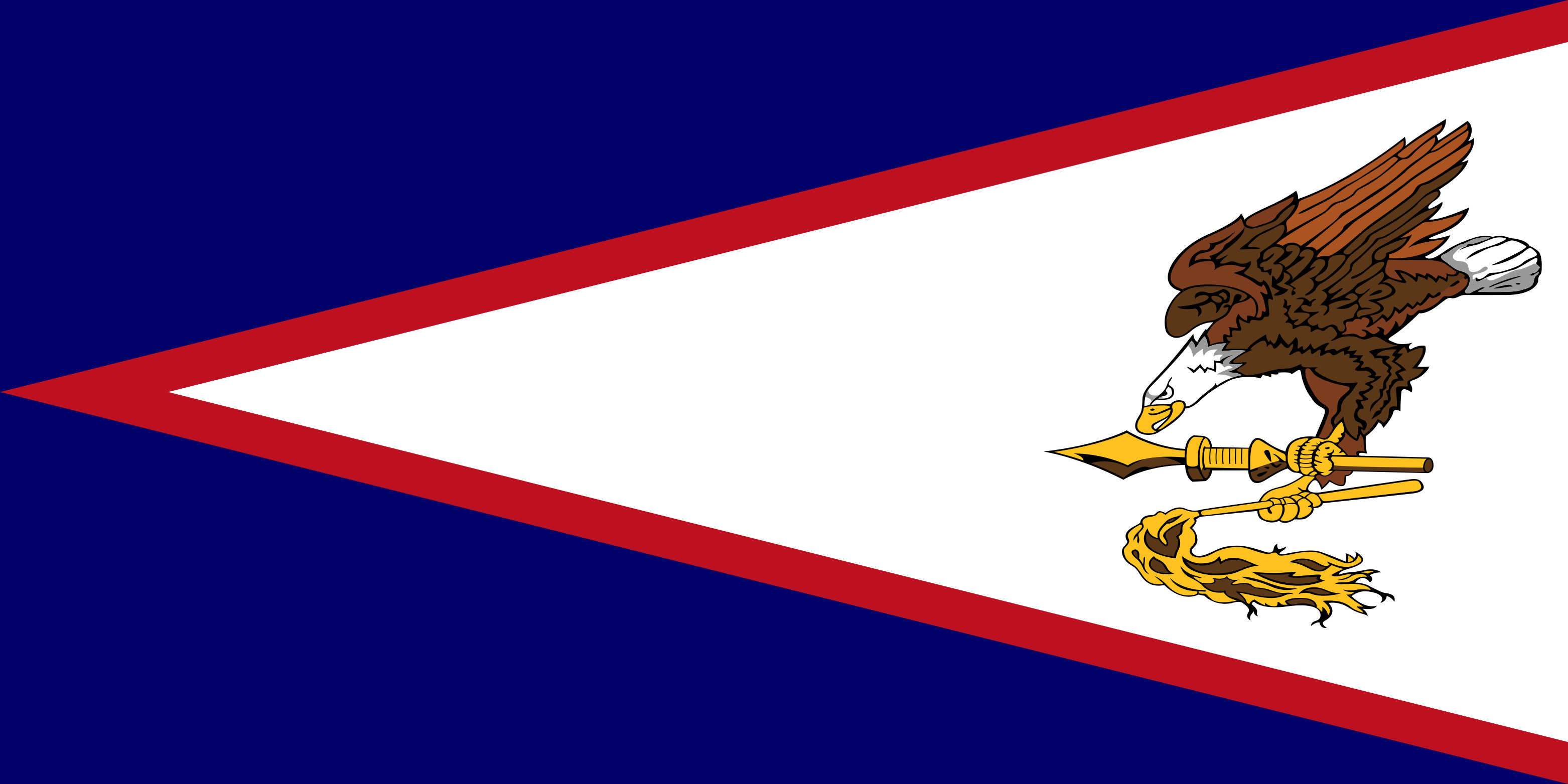 American_Samoa Flag Colours