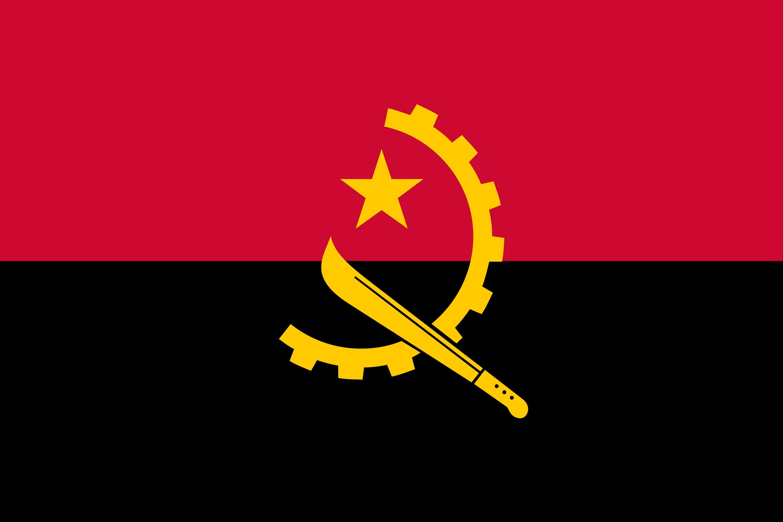 Angola Flag Colours