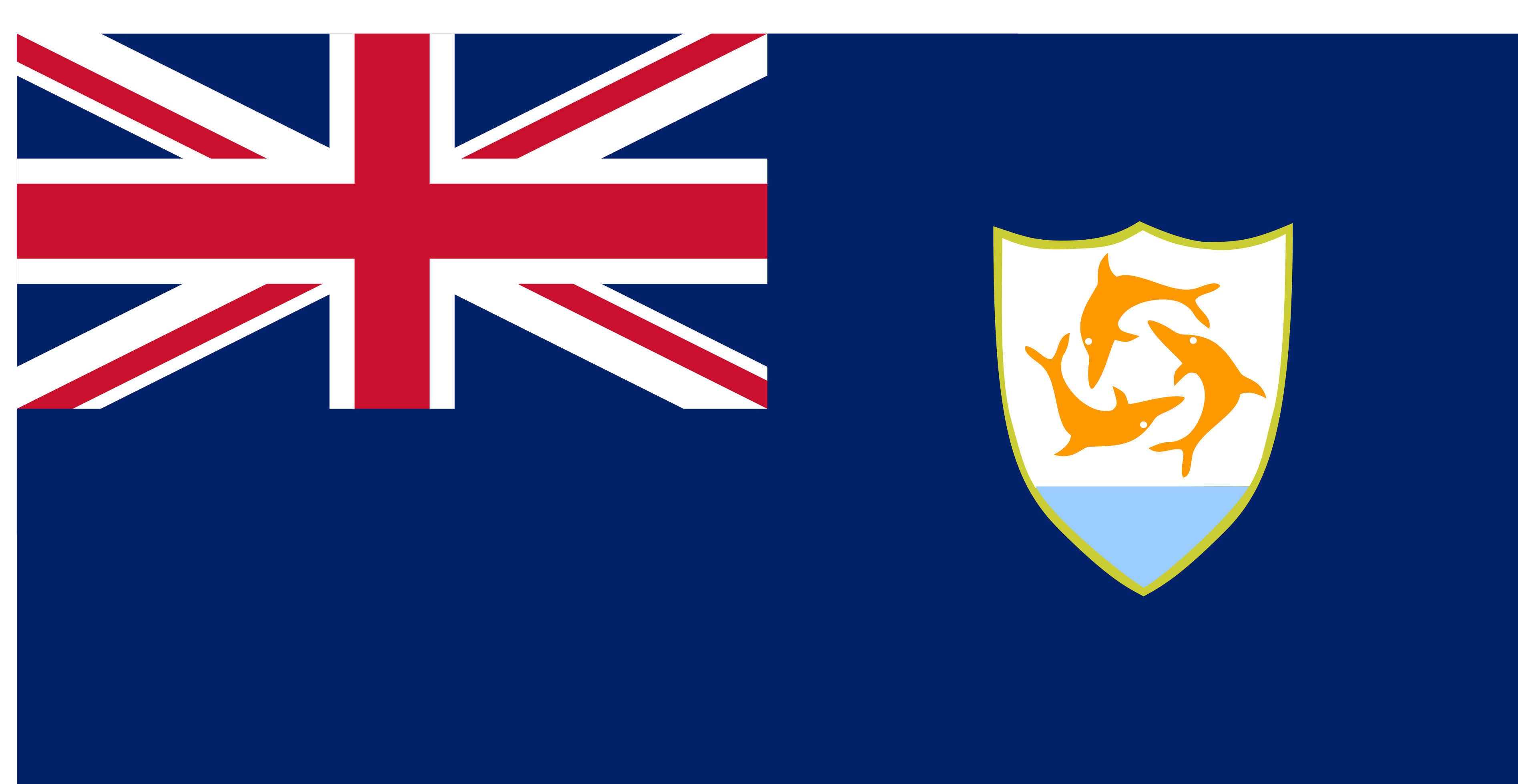 Anguilla Flag Colours