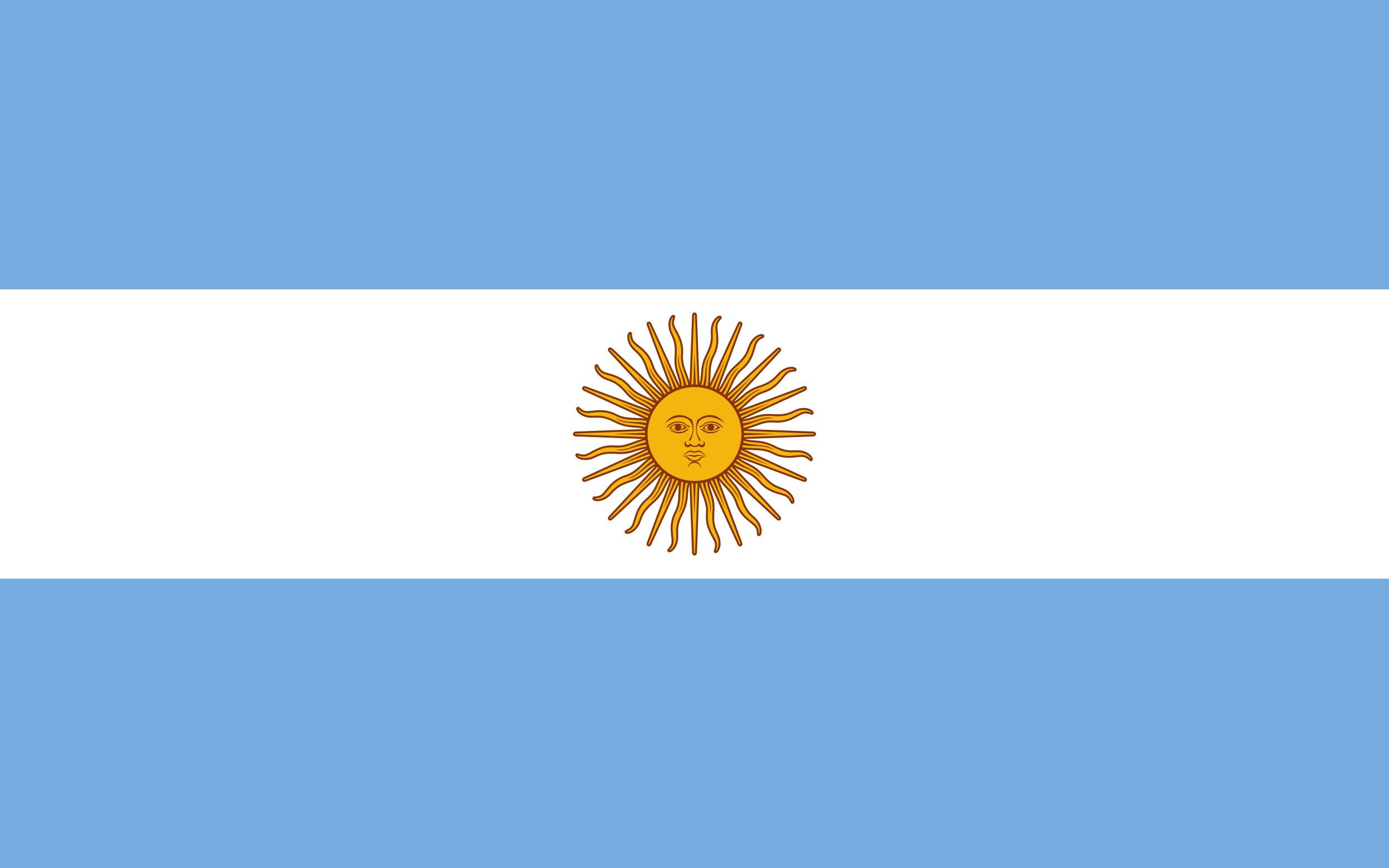 Argentina Flag Colours