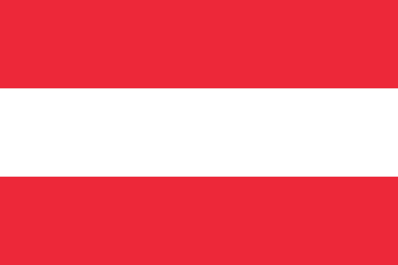 Austria Flag Colours