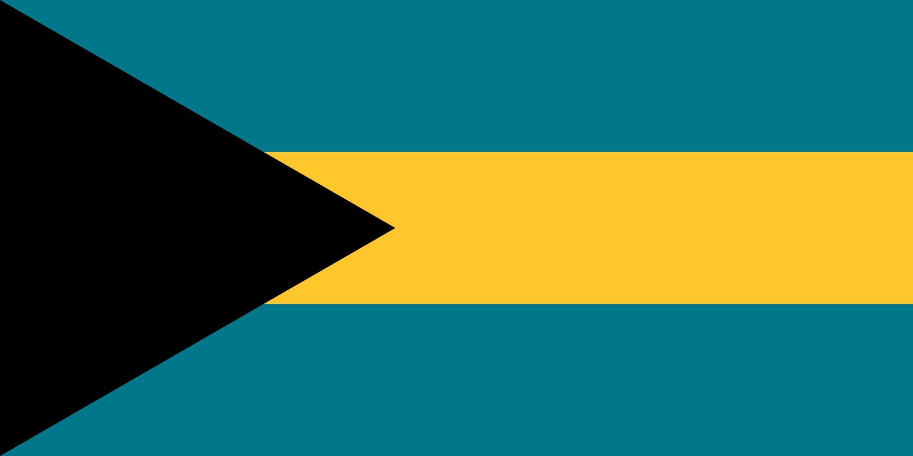 Bahamas Flag Colours