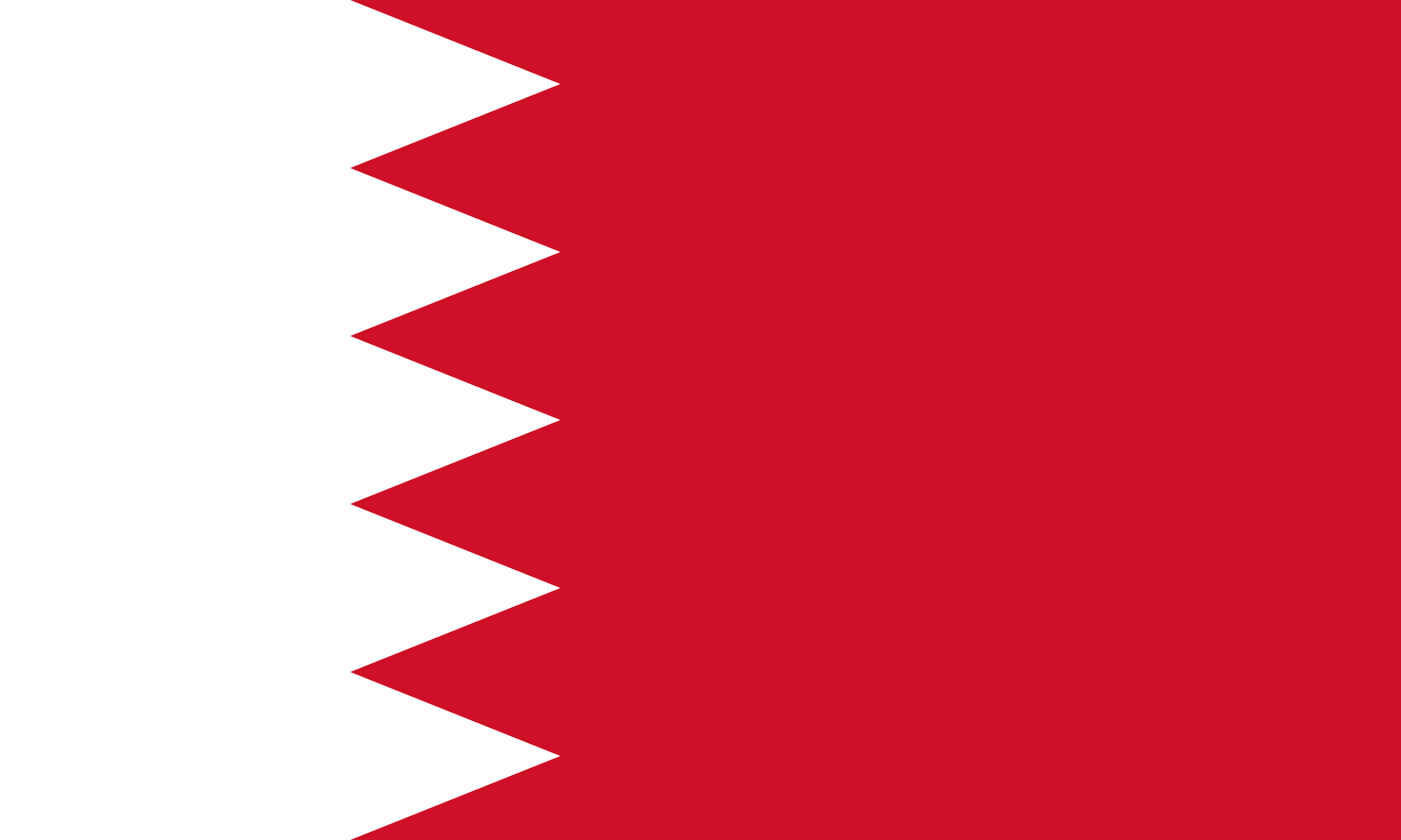 Bahrain Flag Colours