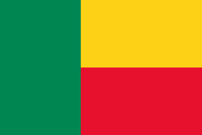 Benin Flag Colours