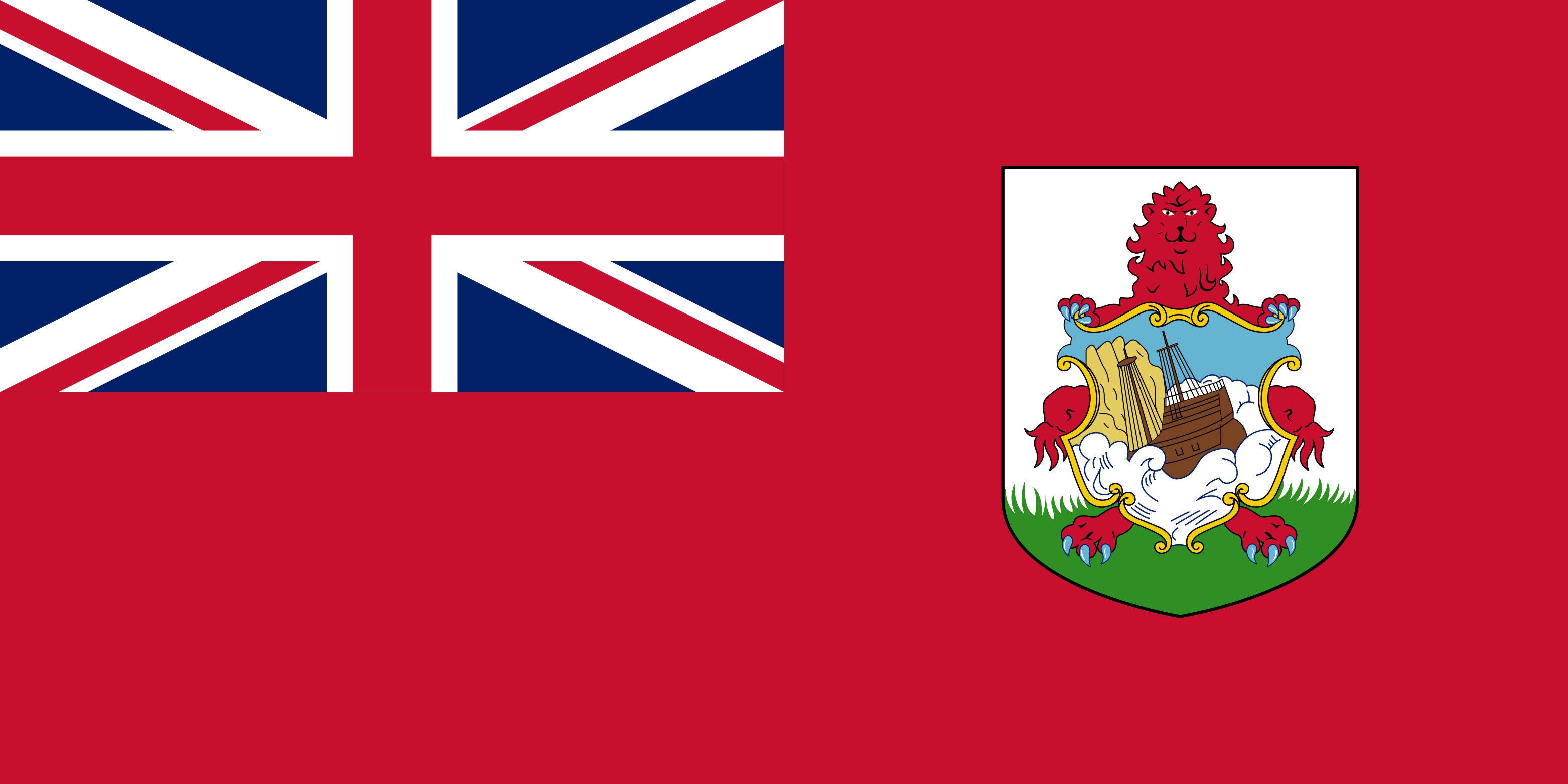 Bermuda Flag Colours