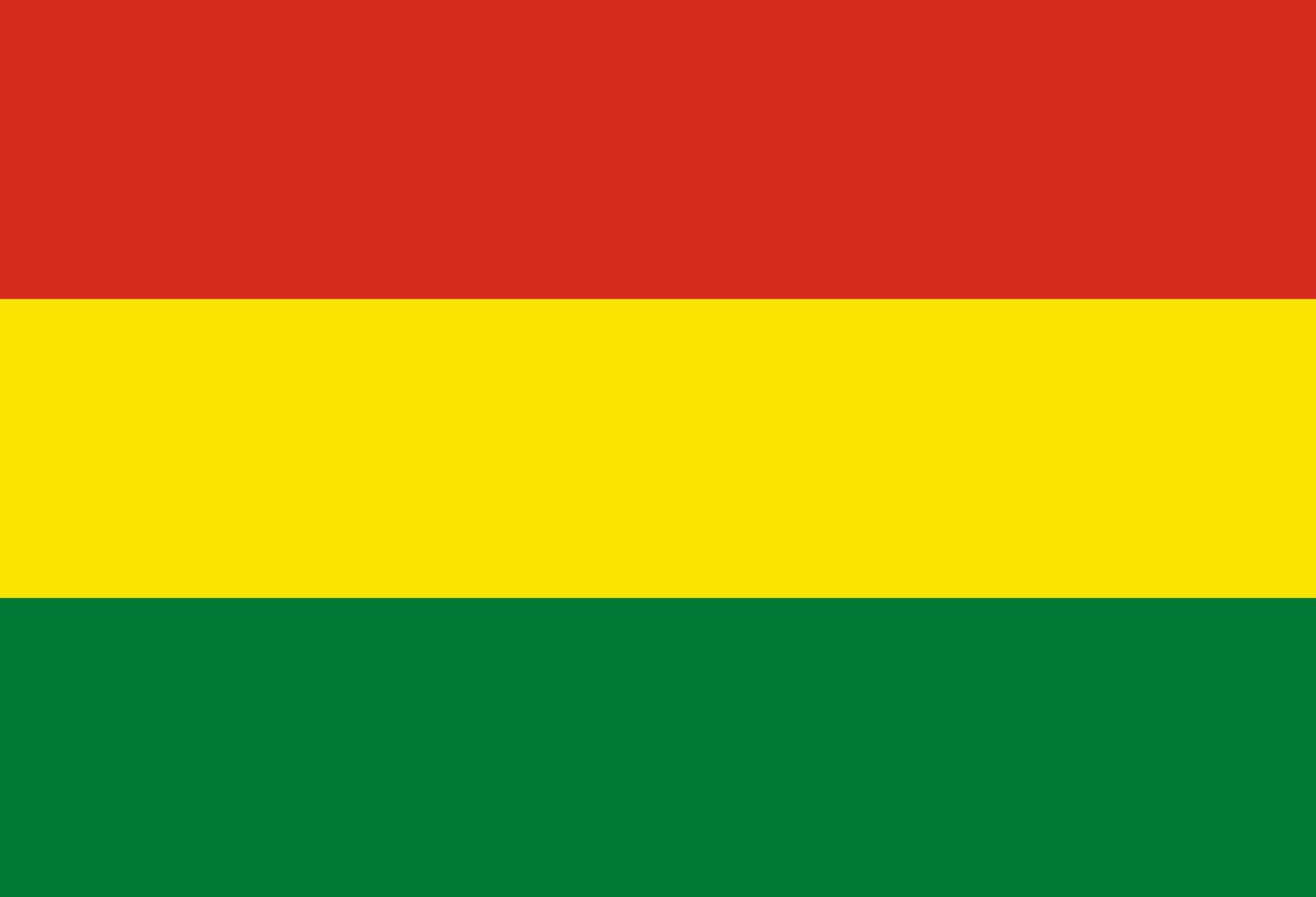 Bolivia Flag Colours