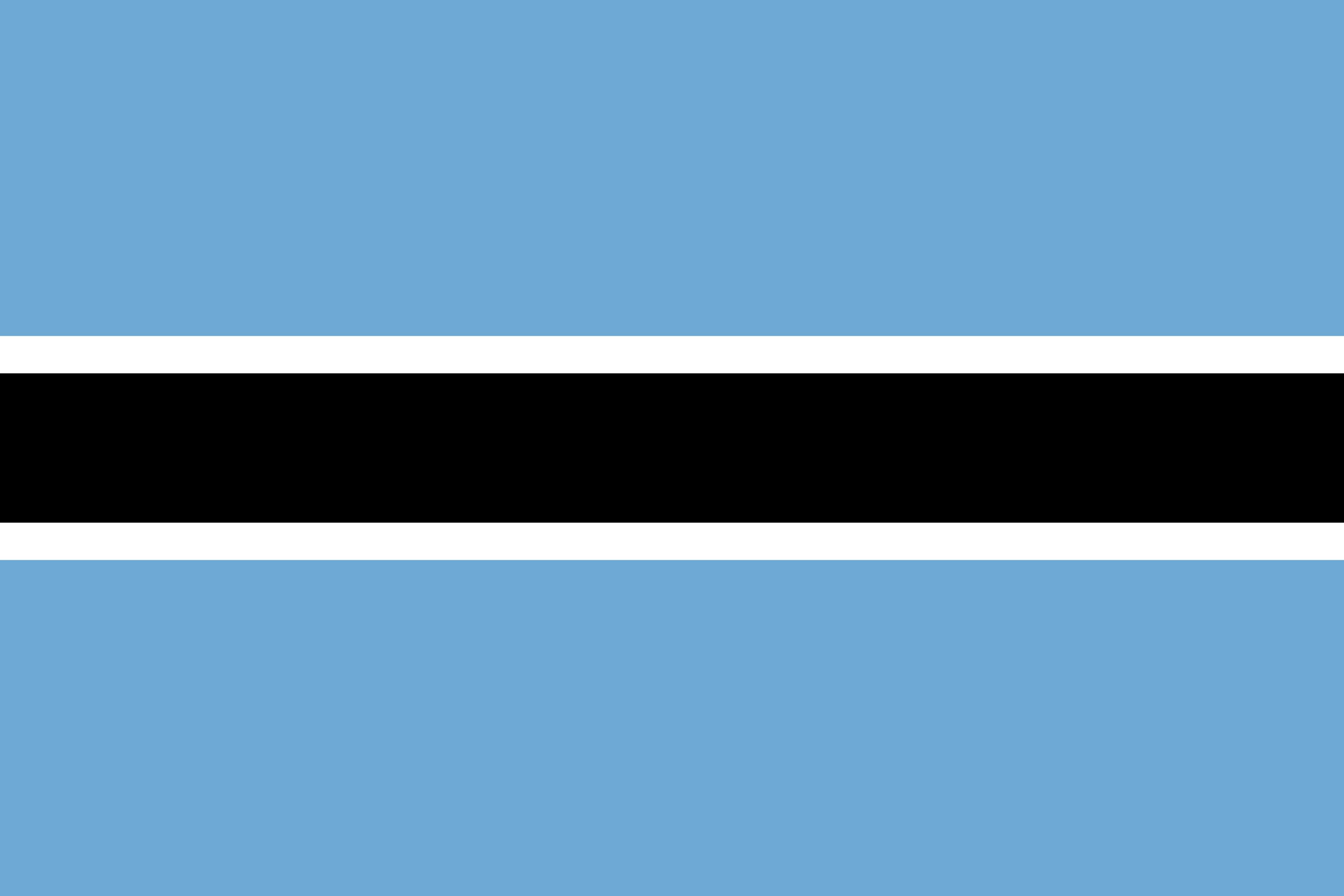 Botswana Flag Colours