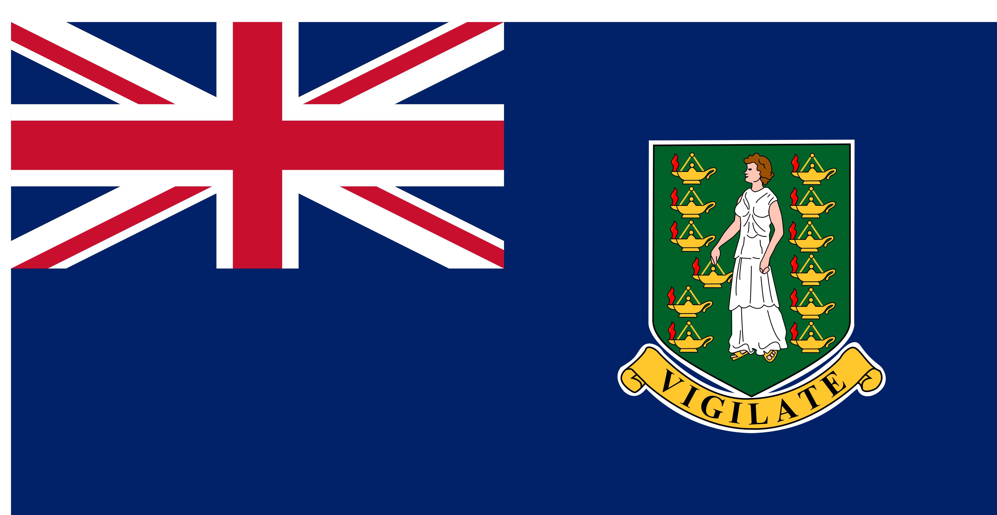 British_Virgin_Islands Flag Colours