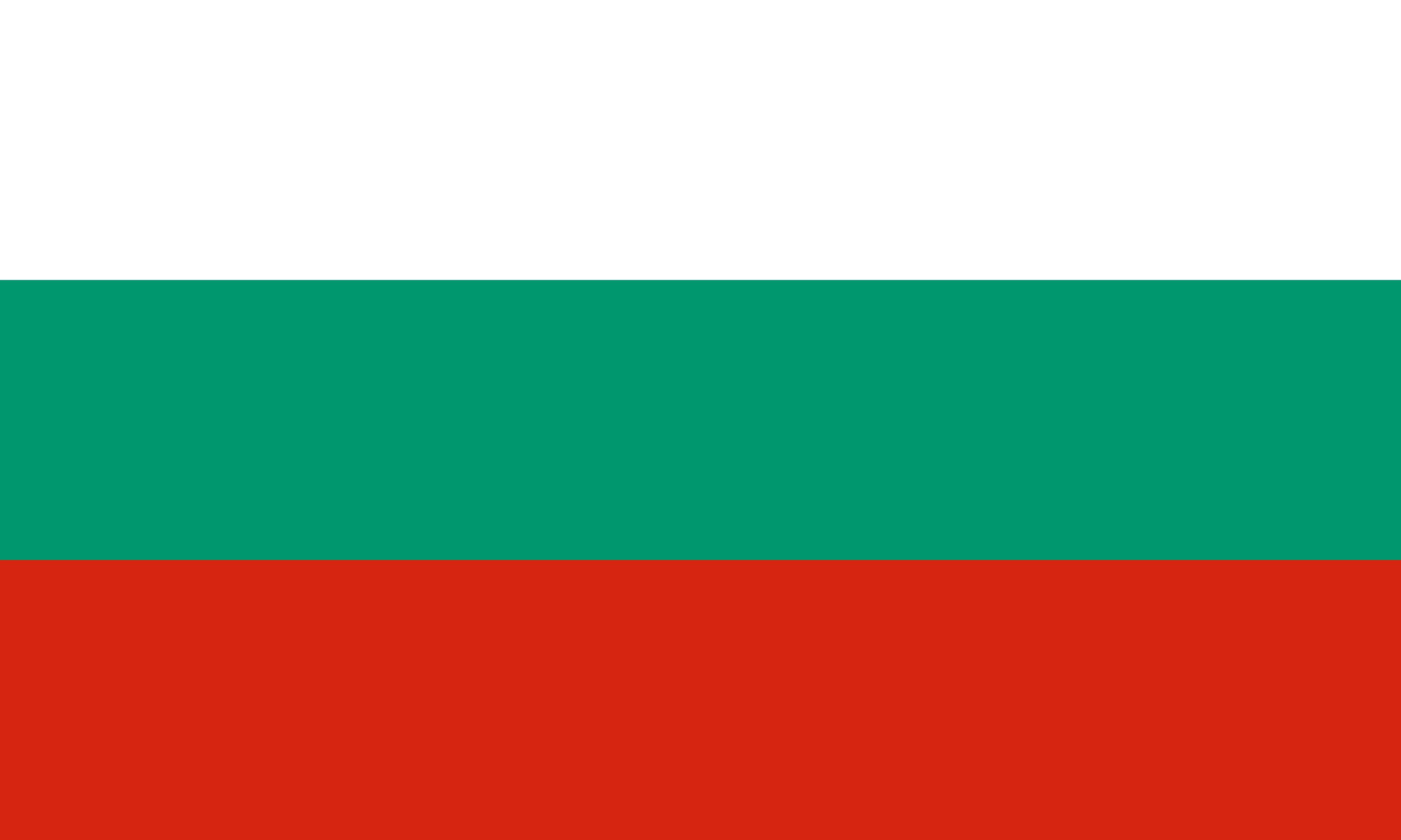 Bulgaria Flag Colours