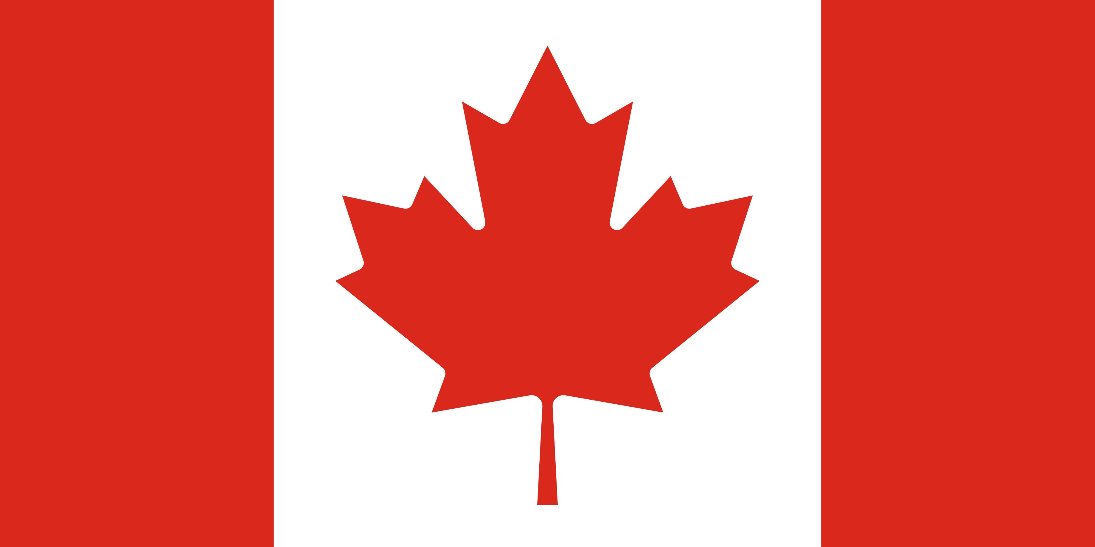 Canada Flag Colours