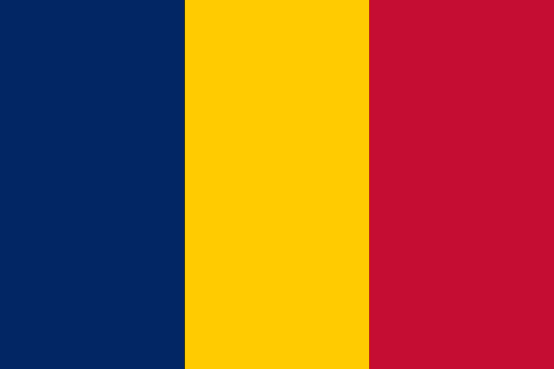 Chad Flag Colours