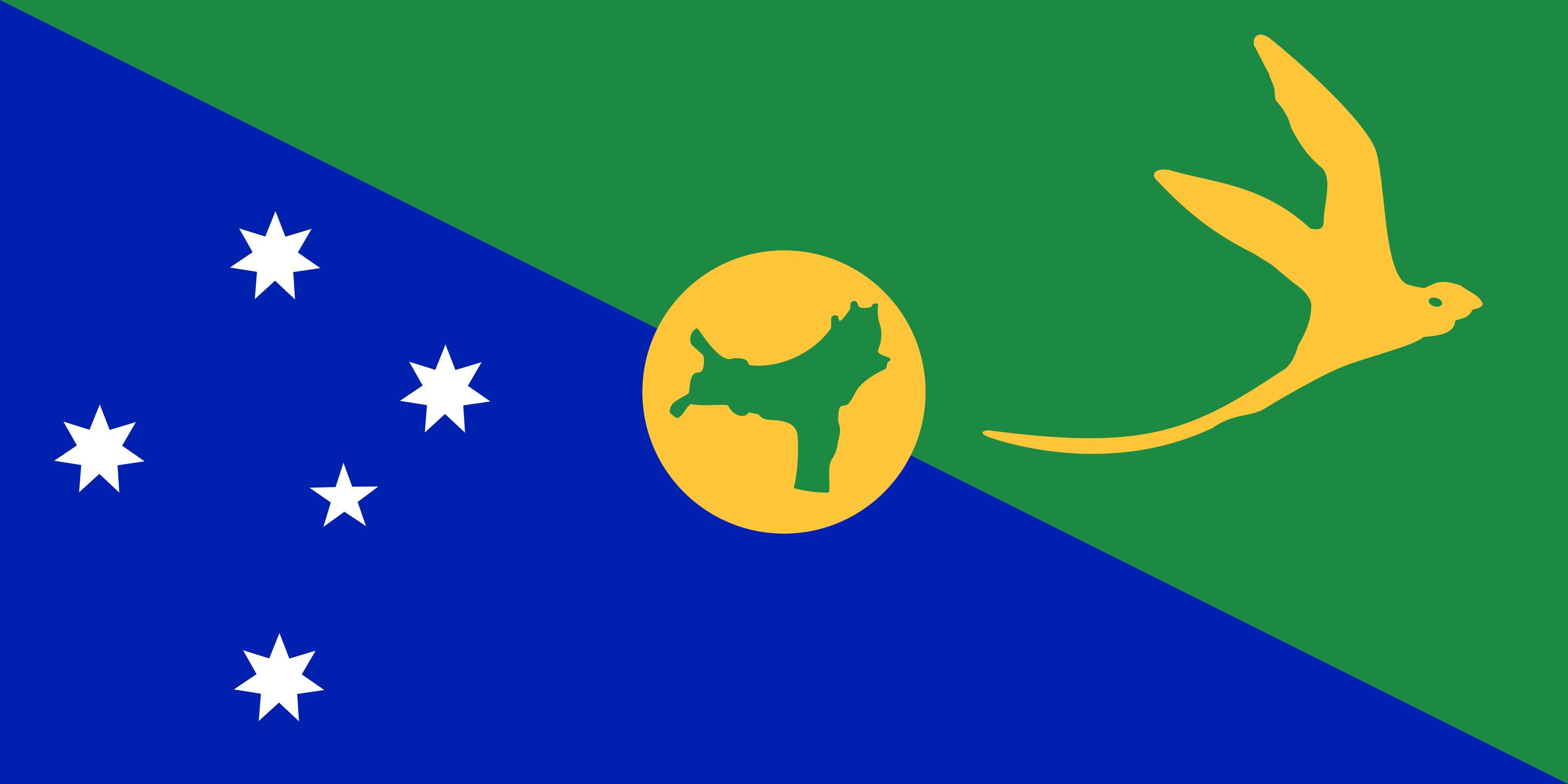 Christmas_Island Flag Colours
