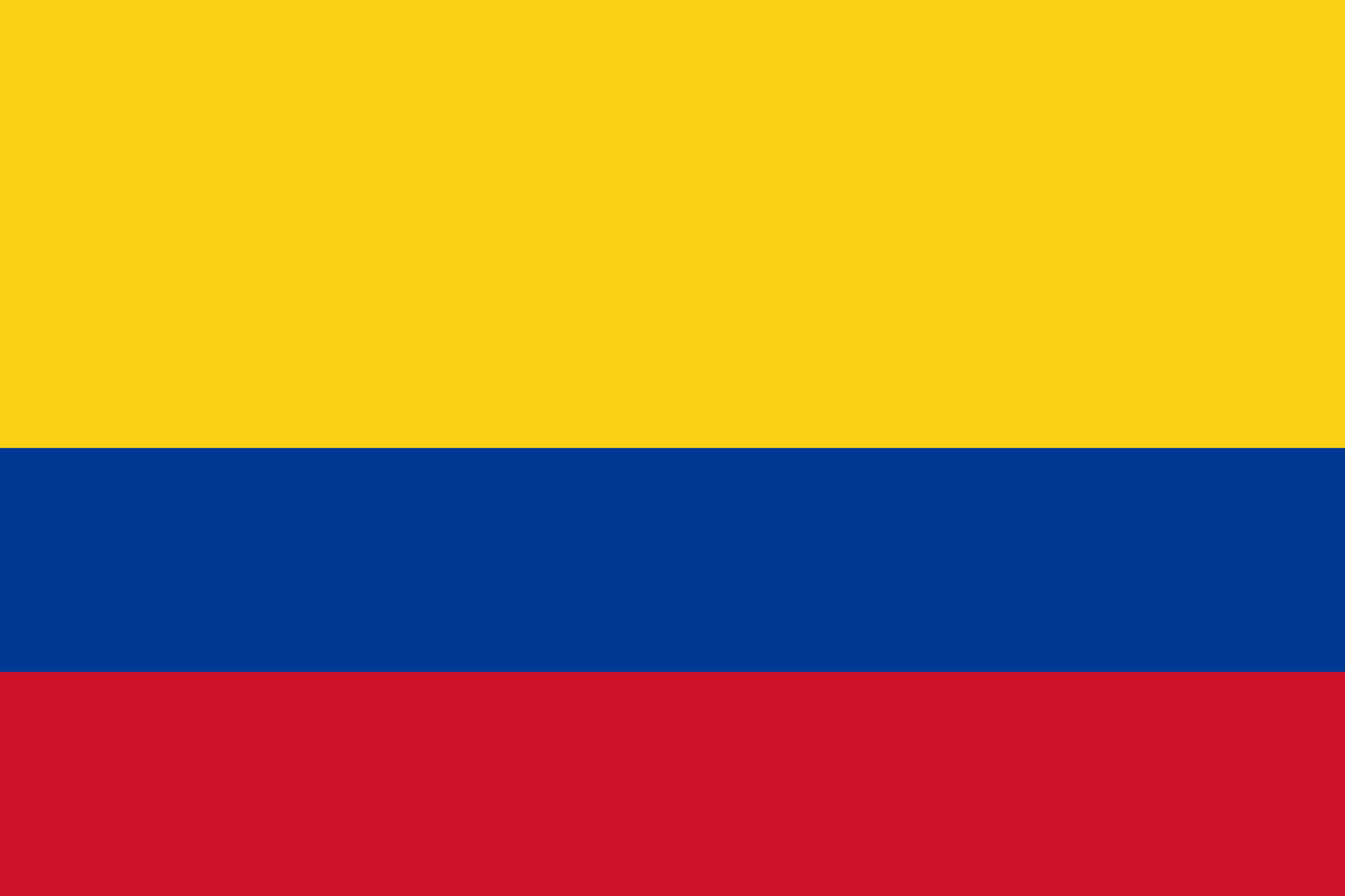 Colombia Flag Colours