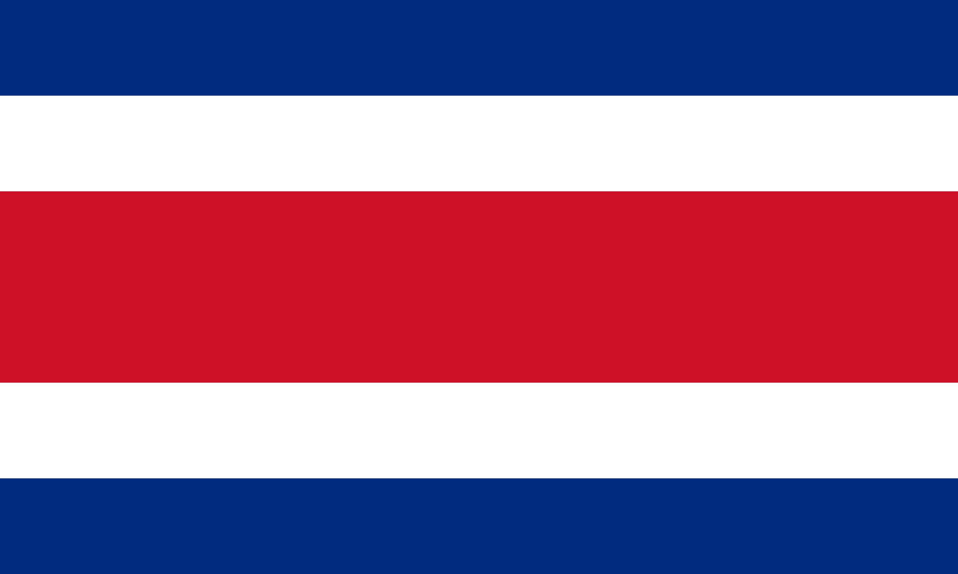 Costa_Rica Flag Colours