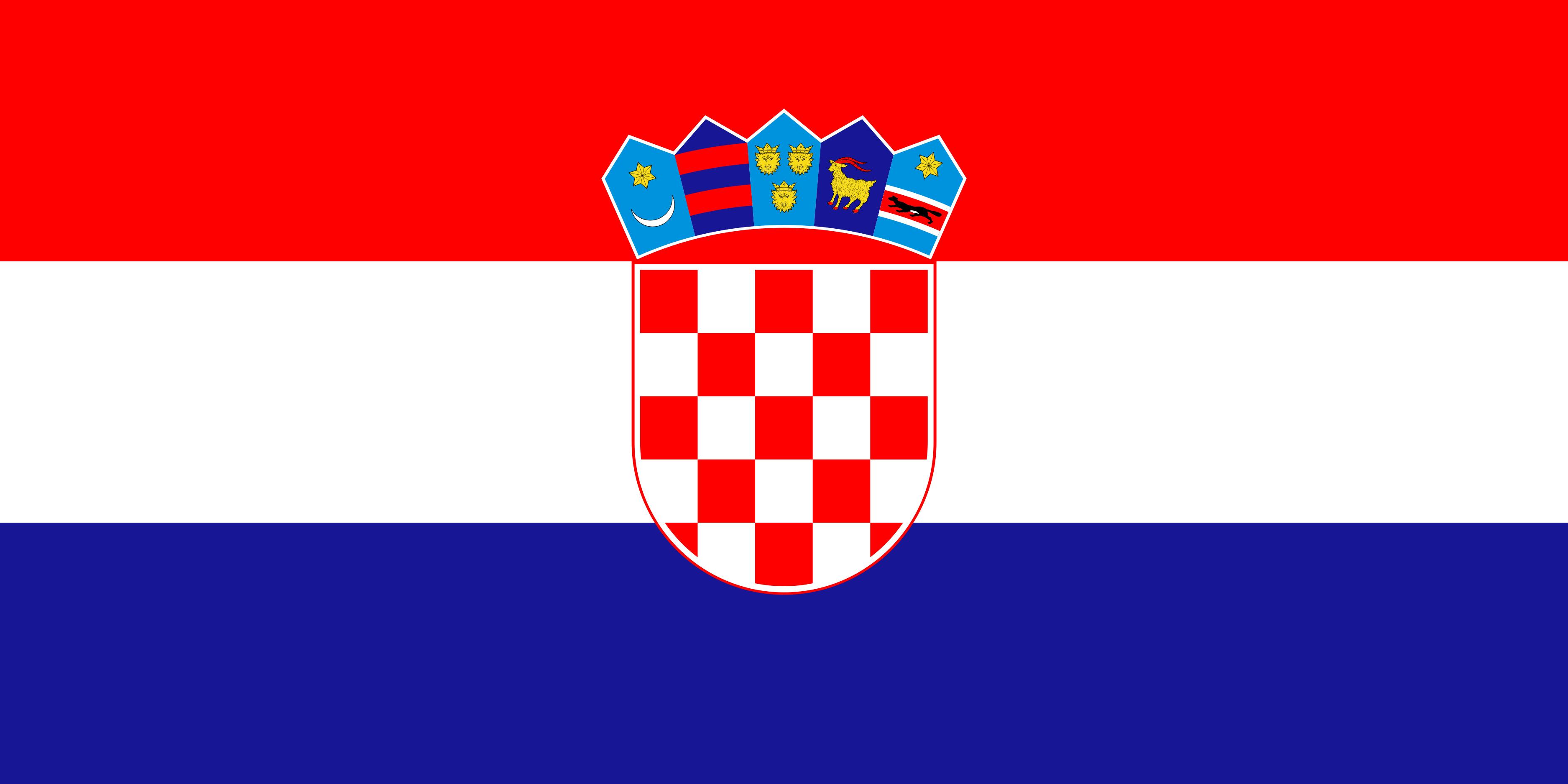Croatia Flag Colours