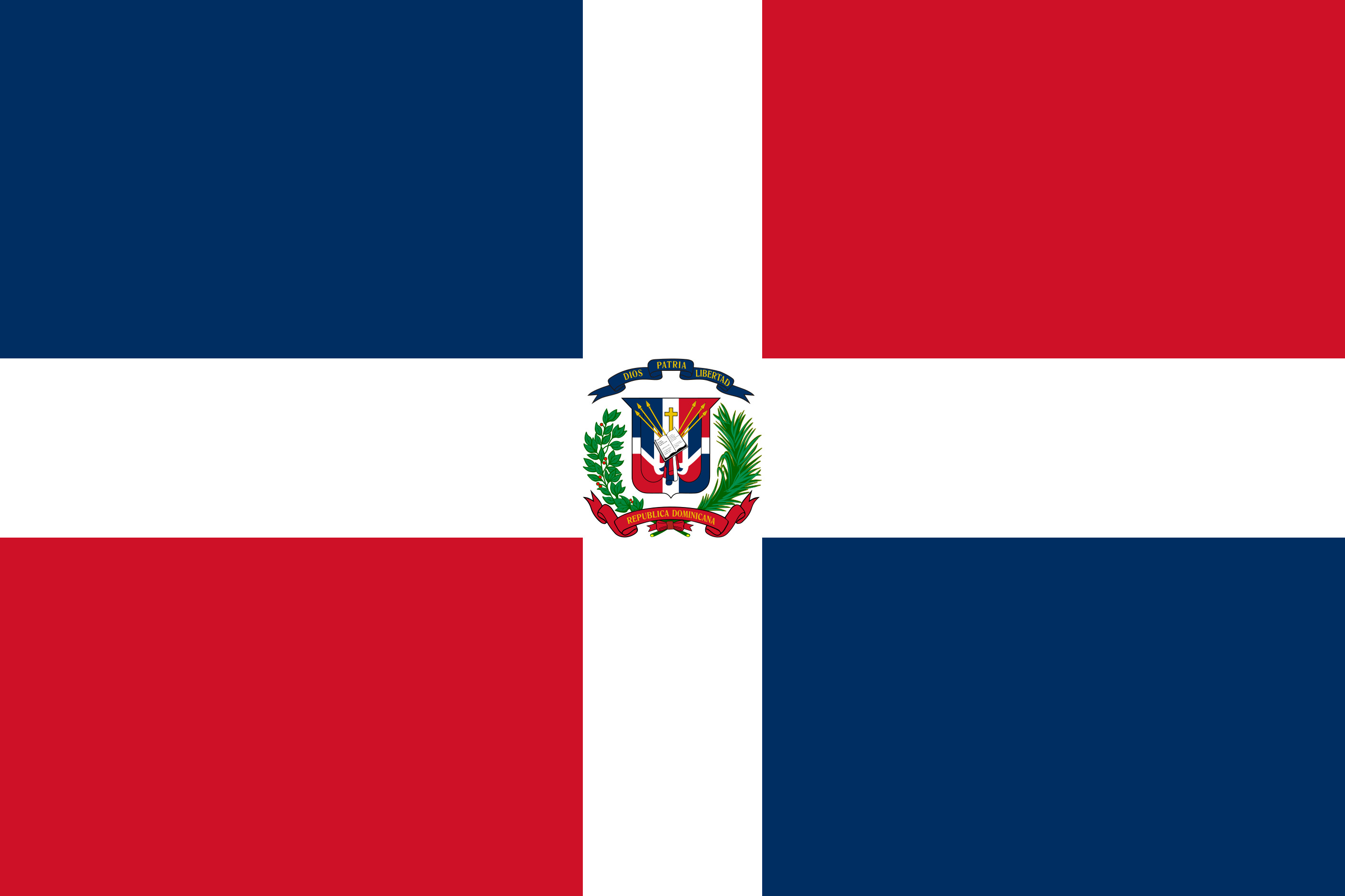 Dominican_Republic Flag Colours