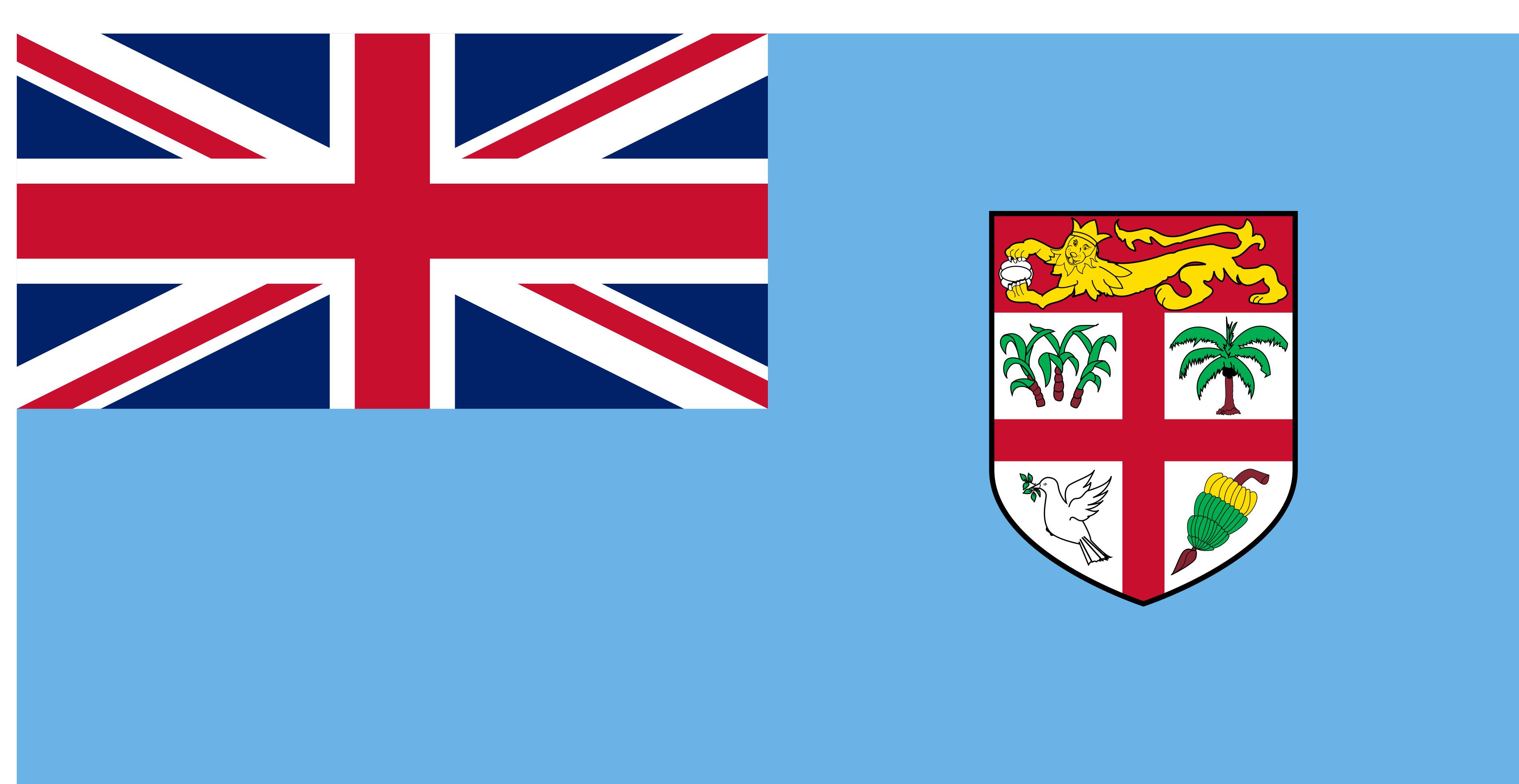Fiji Flag Colours