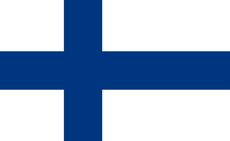 Finland Flag Colours