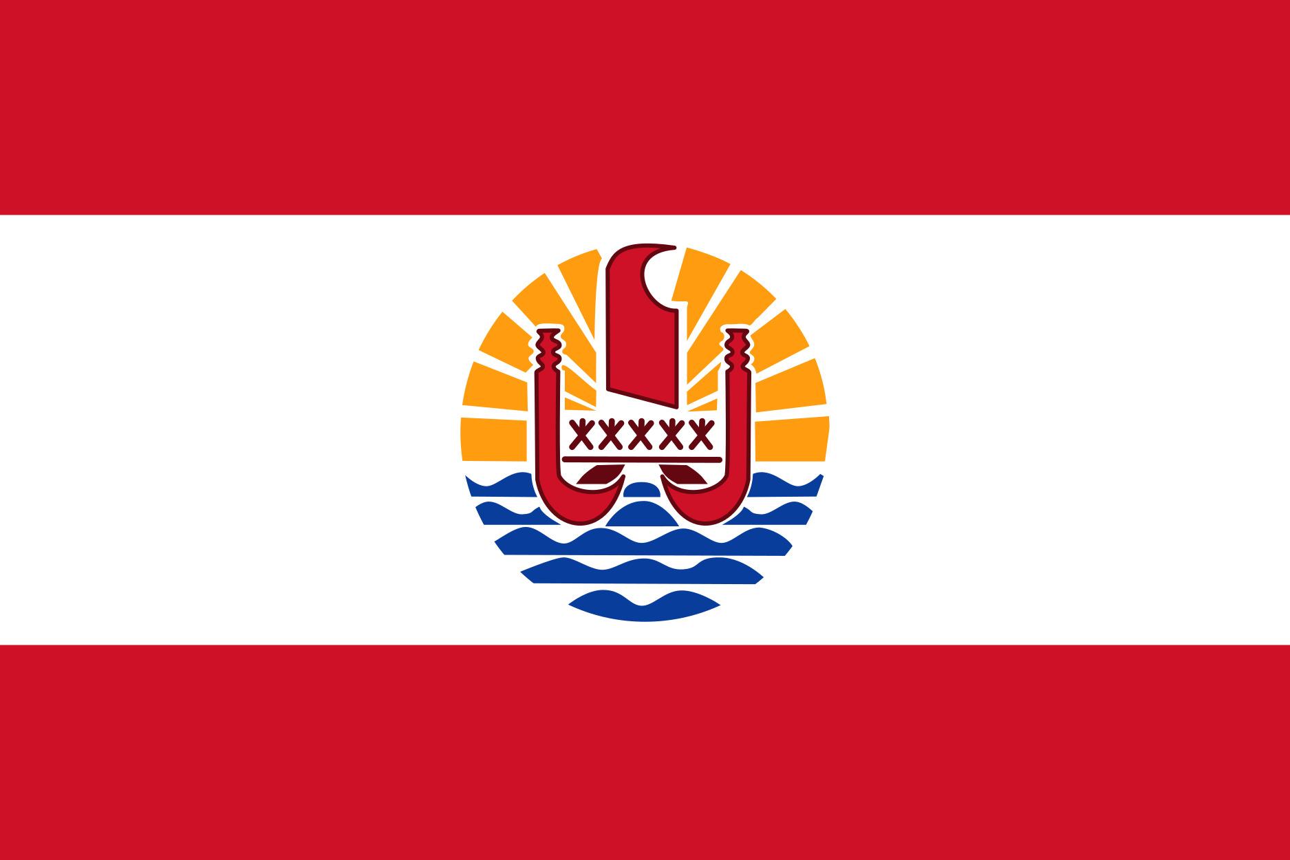 French_Polynesia Flag Colours