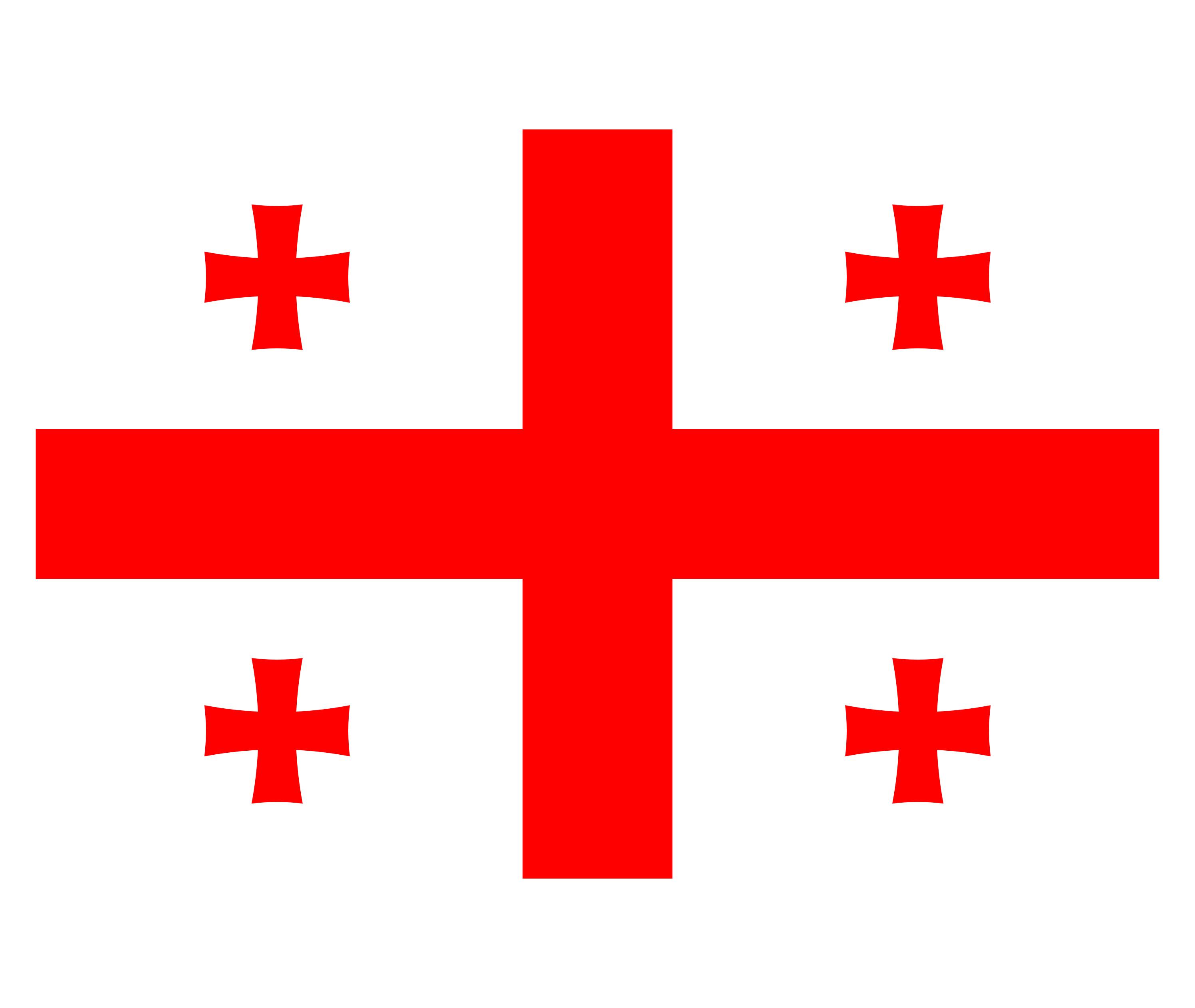 Georgia Flag Colours