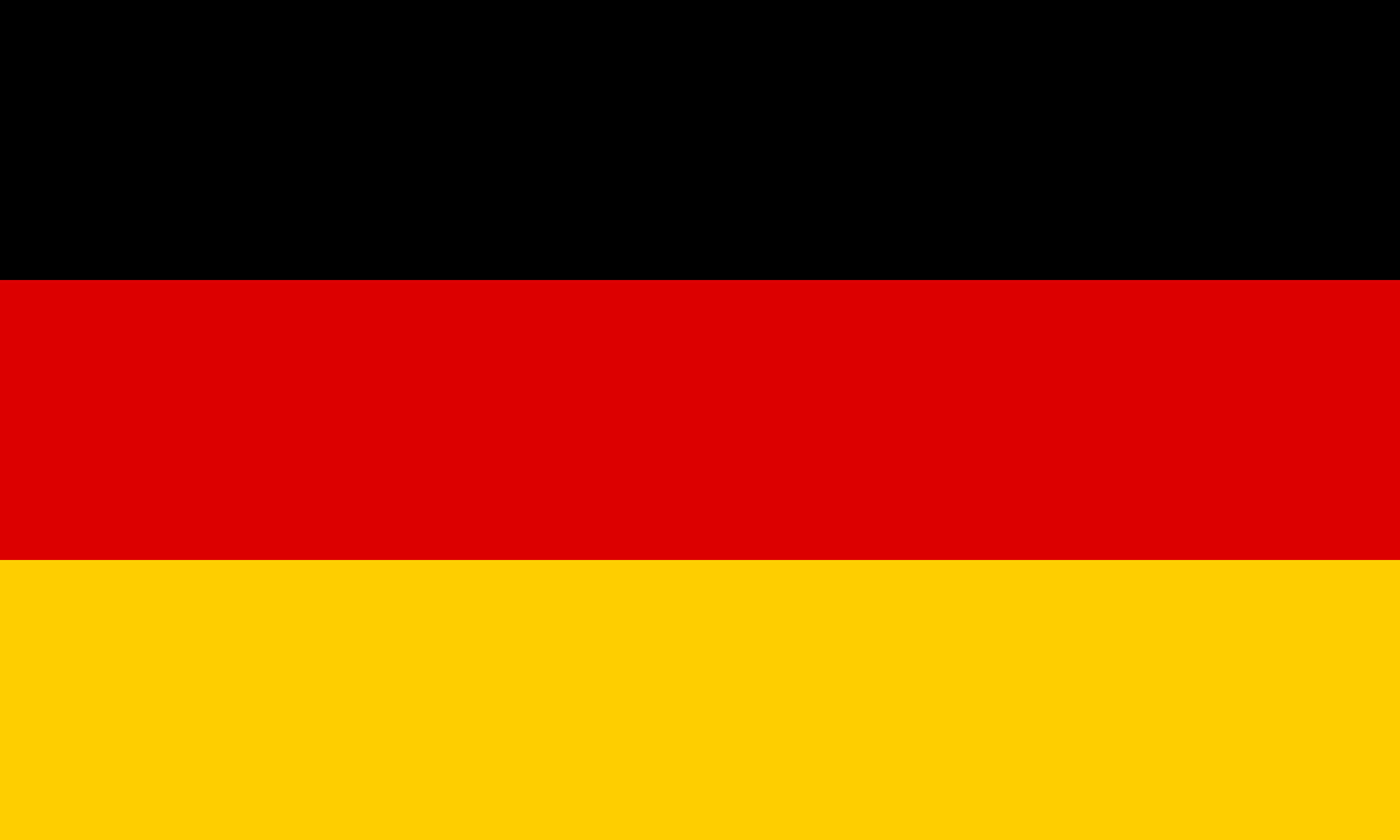 Germany Flag Colours