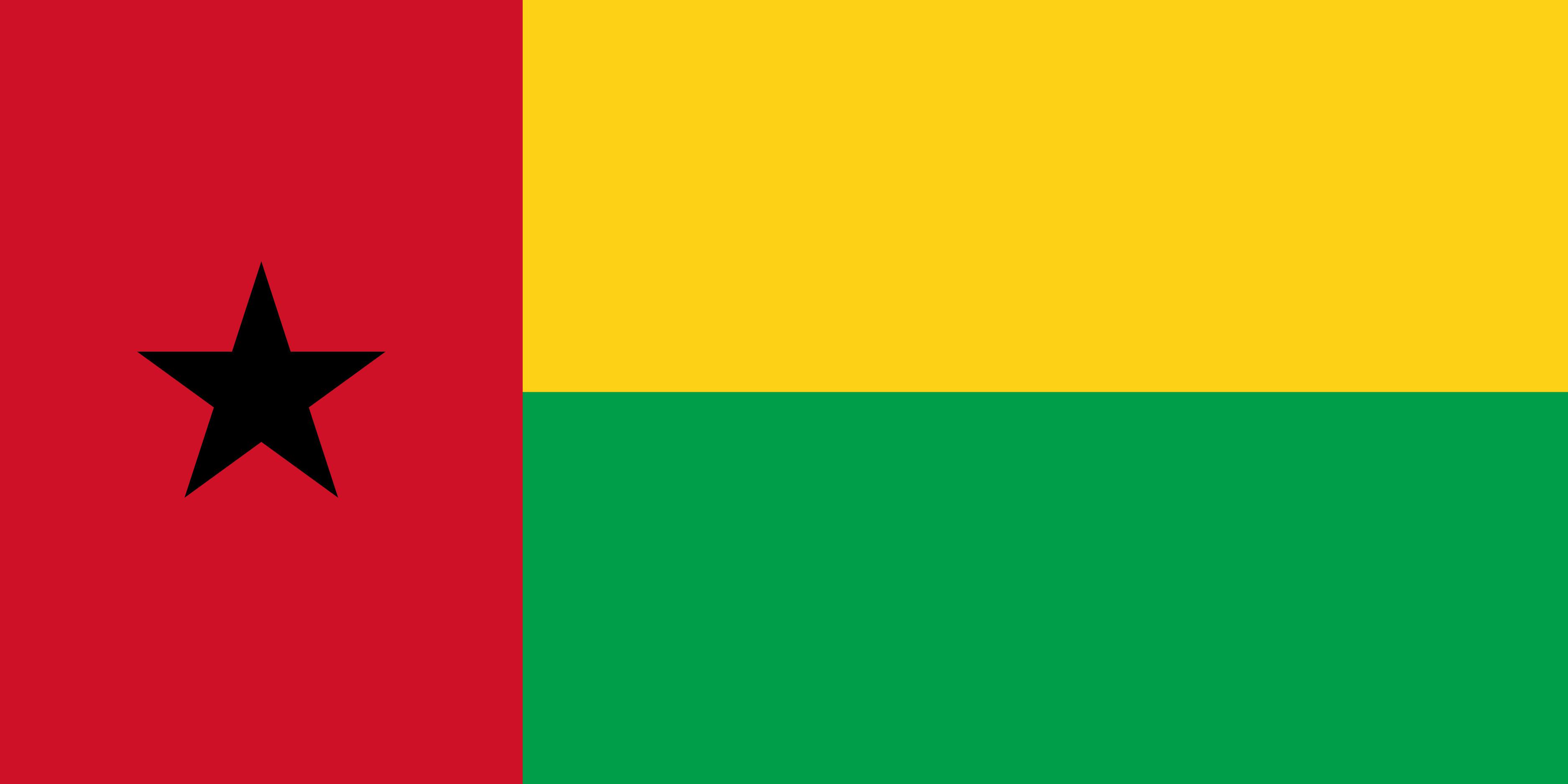 Guinea-Bissau Flag Colours