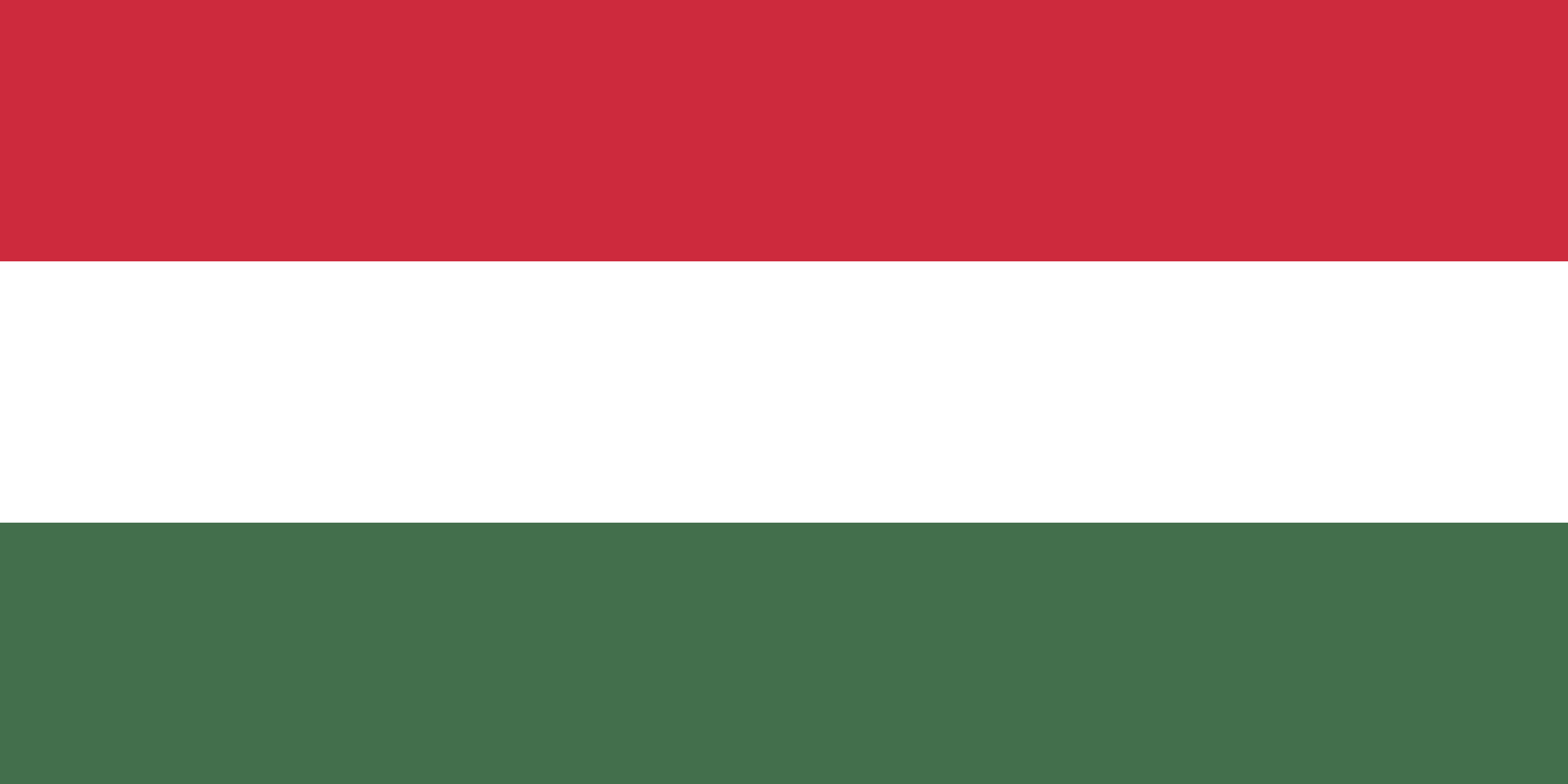 Hungary Flag Colours