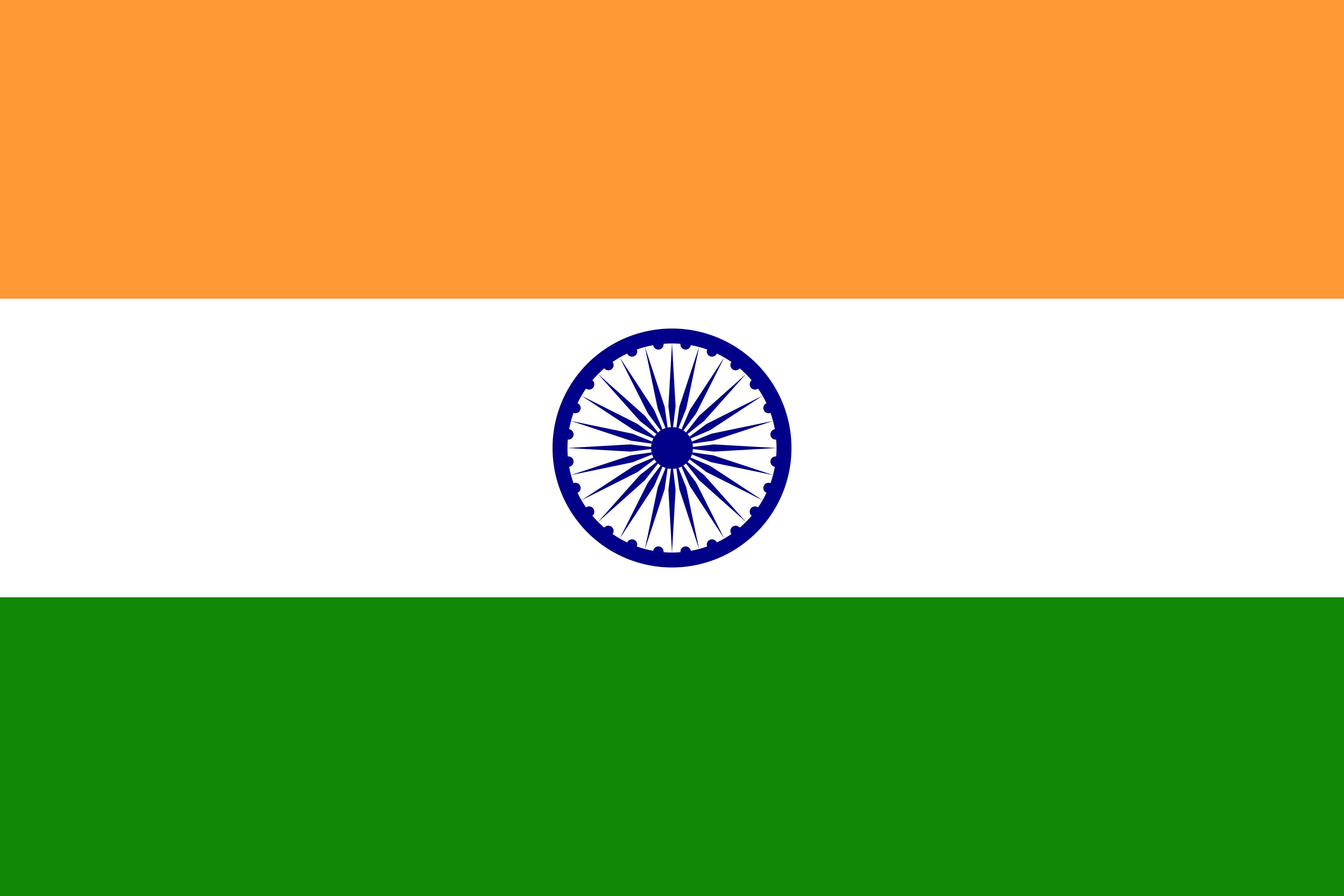 India Flag Colours