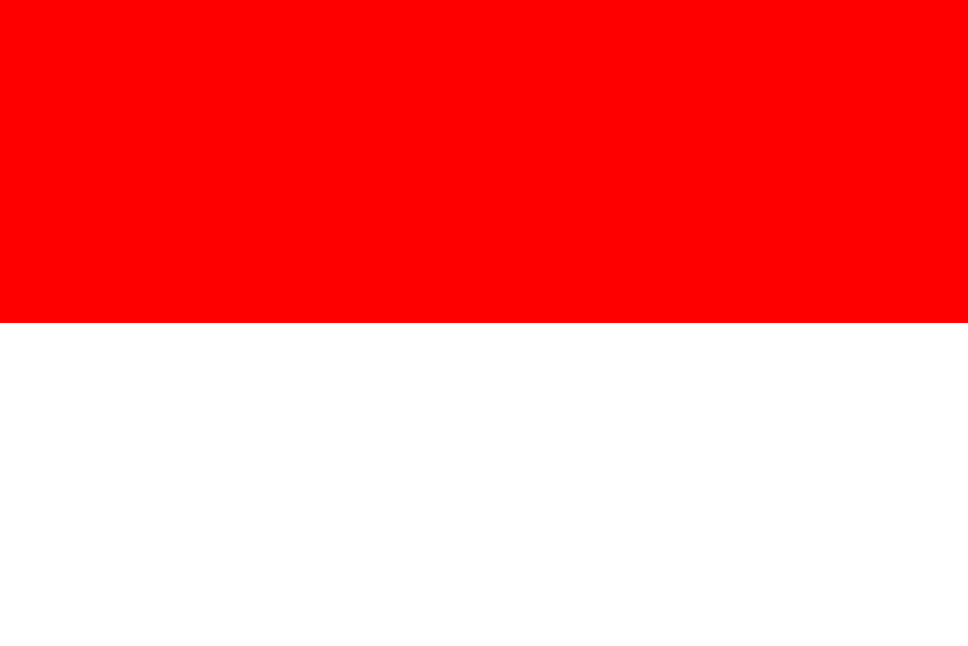Indonesia Flag Colours