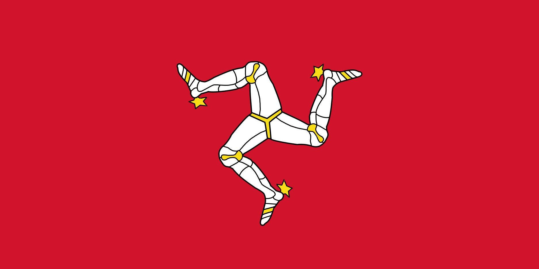 Isle_of_Mann Flag Colours