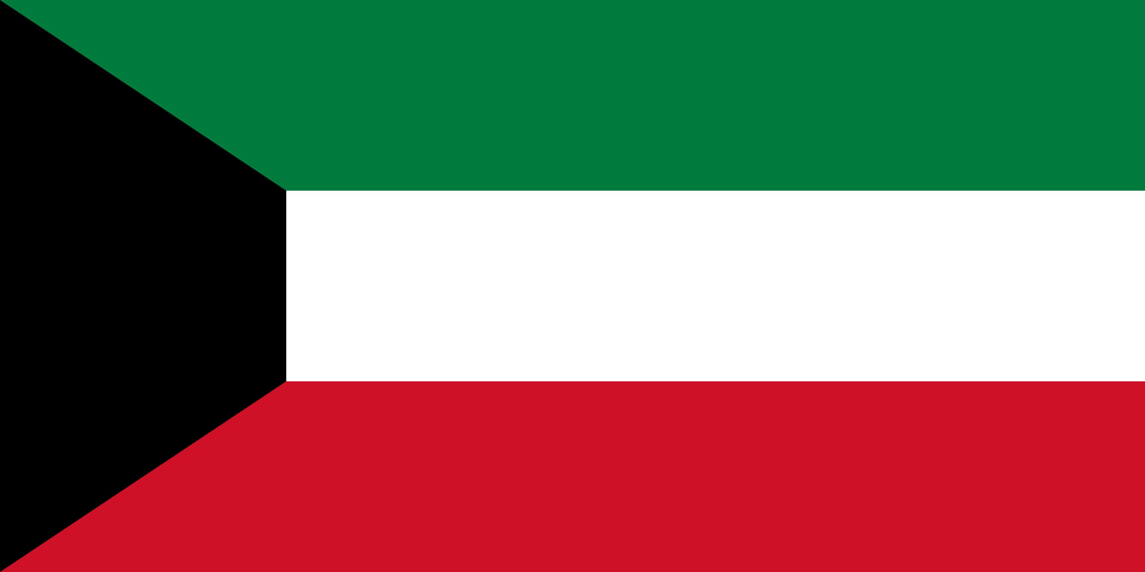 Kuwait Flag Colours