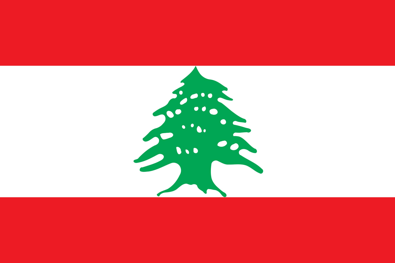 Lebanon Flag Colours