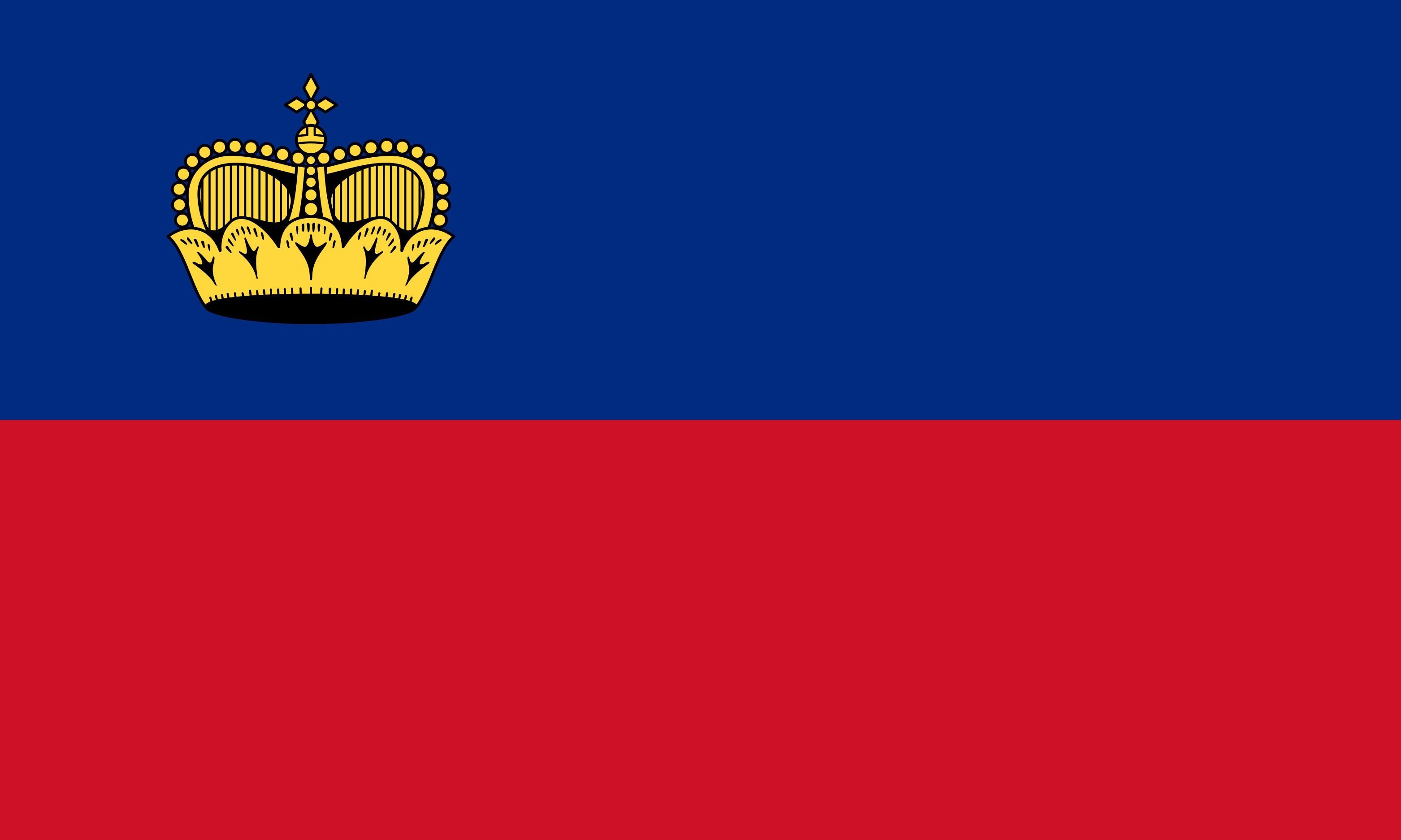 Liechtenstein Flag Colours
