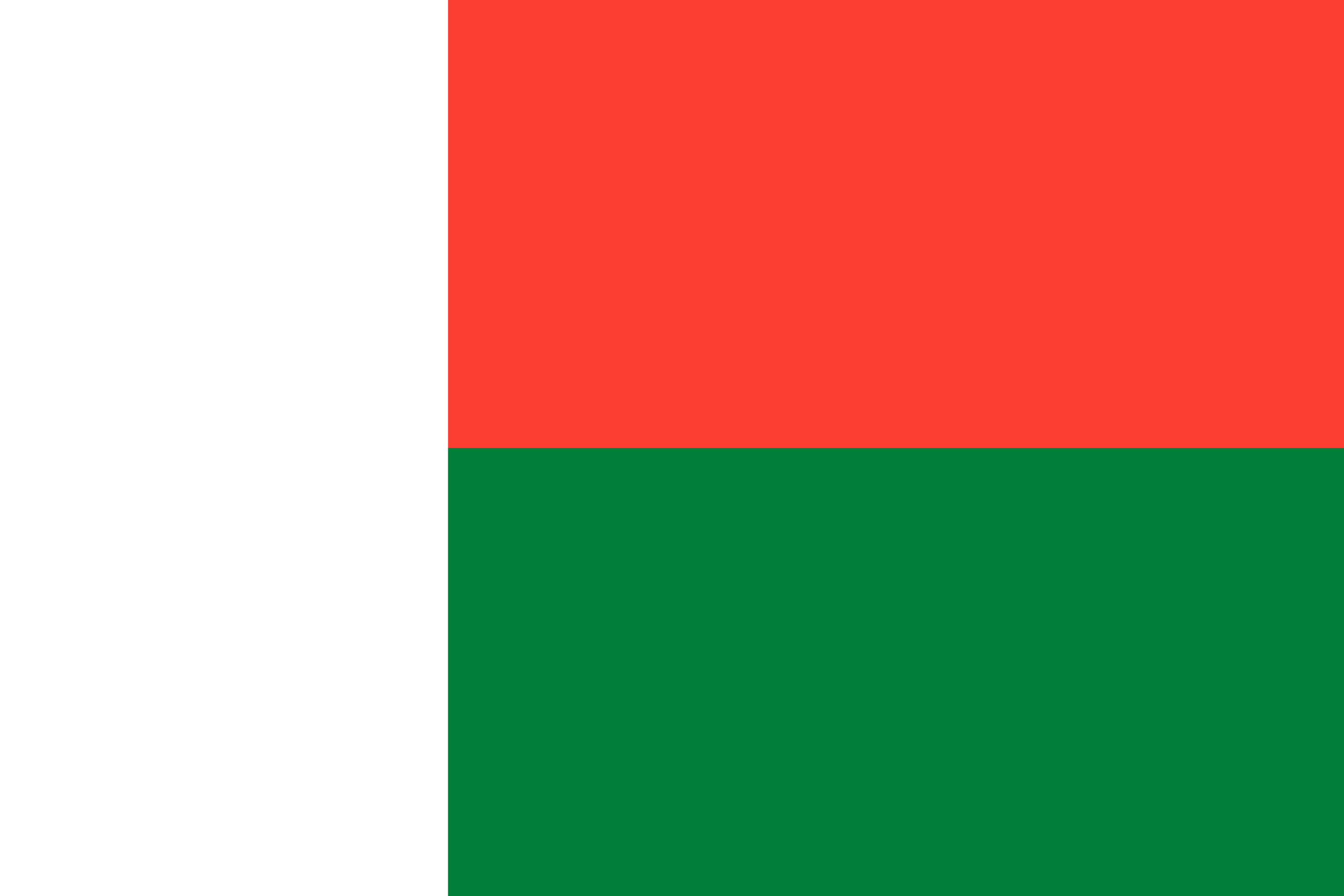 Madagascar Flag Colours