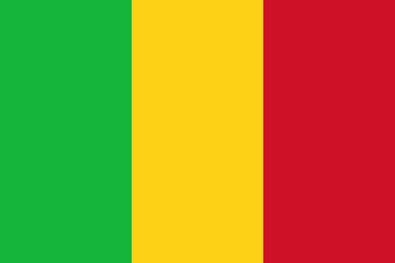 Mali Flag Colours