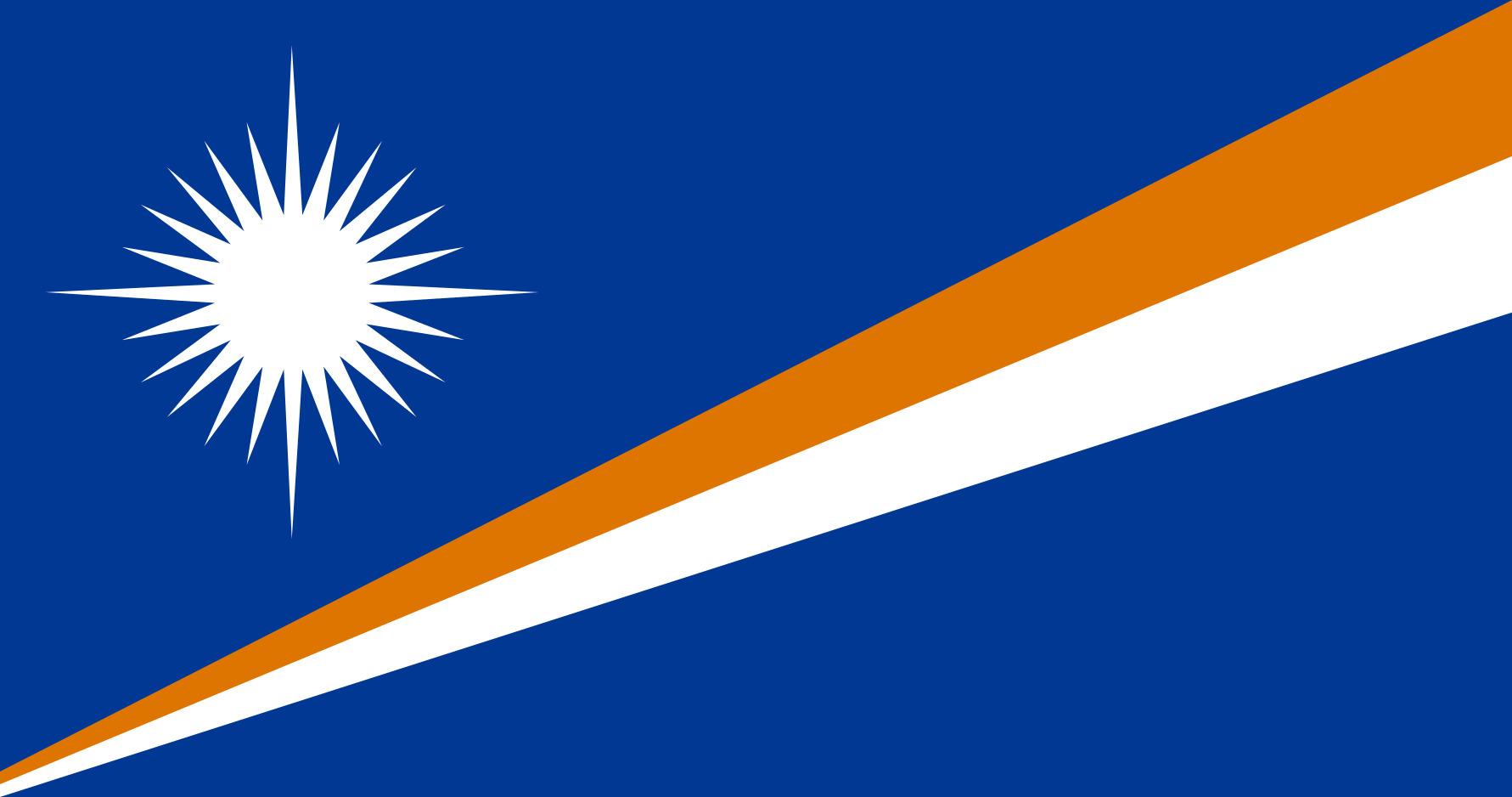 Marshall_Islands Flag Colours