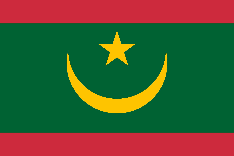 Mauritania Flag Colours