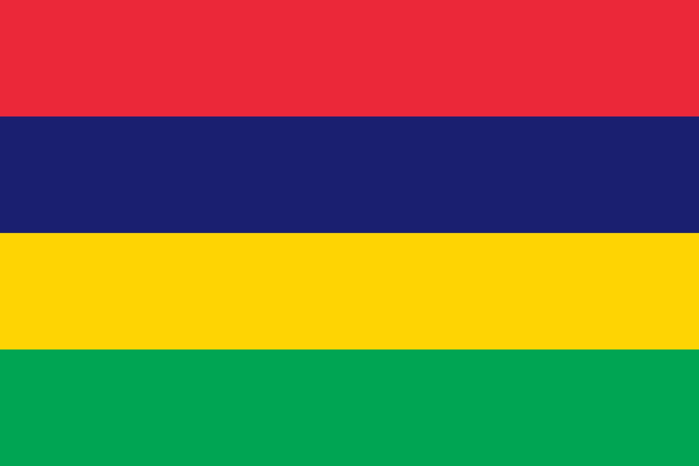 Mauritius Flag Colours